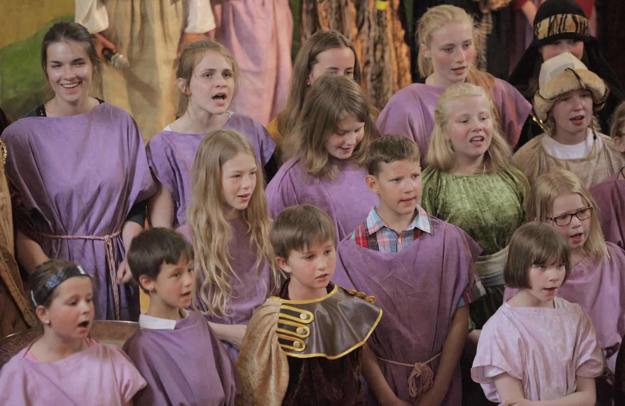 Musical, Kirche Herrnburg. Foto: Nina Strugalla
