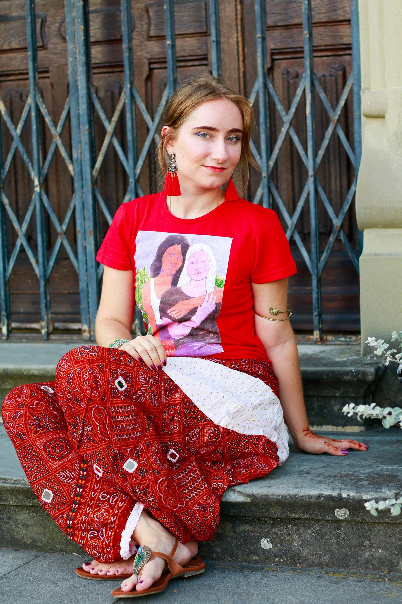 Bedrucktes T-Shirt/Foto: Ruban Maha