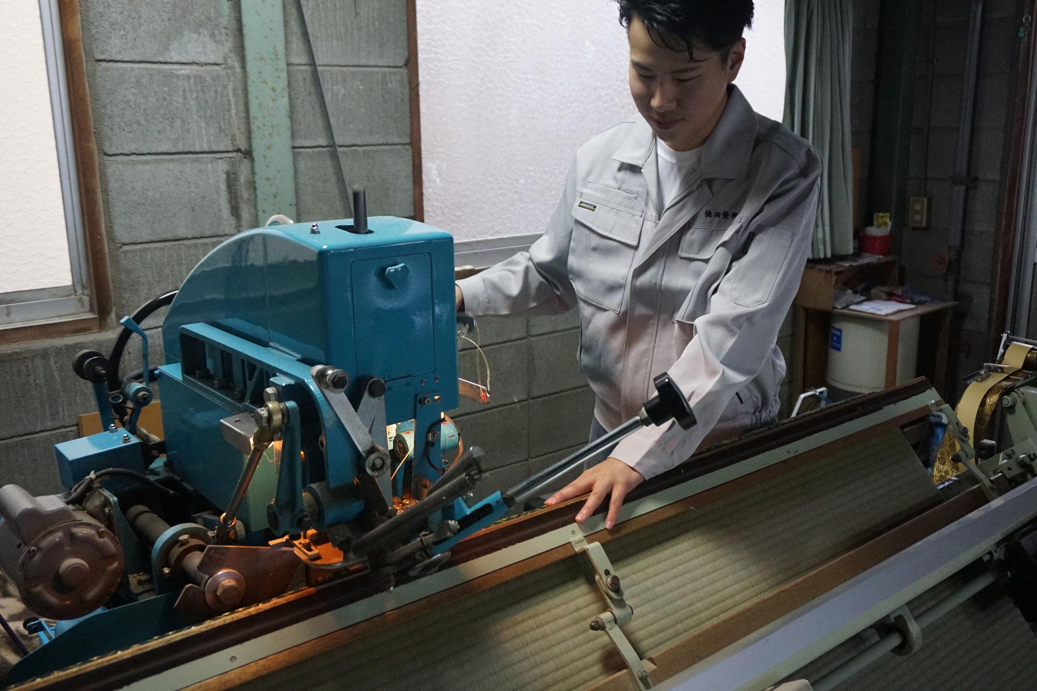 畳の裏返しは、畳縁は新品を使用