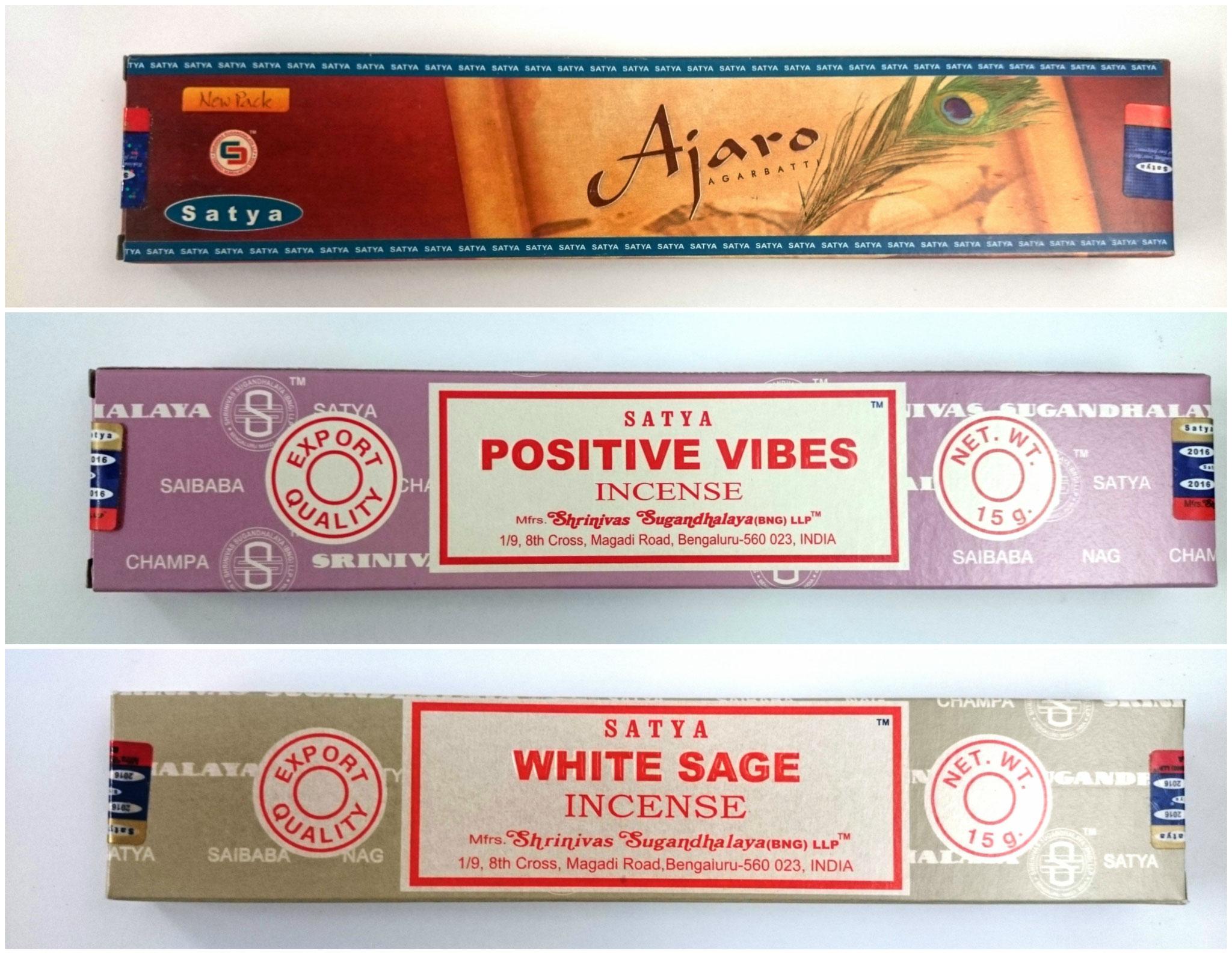 Encens en vente au Mandala de Fleurance (Gers) et en ligne