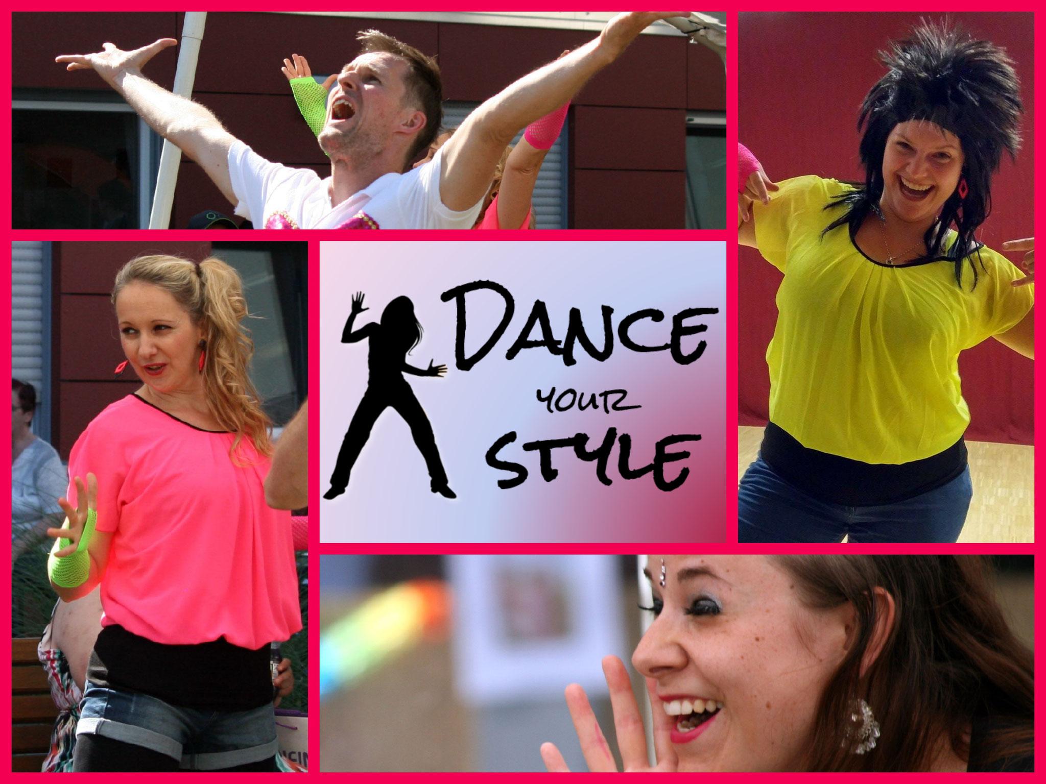 Dance your Style Nr. 1 - Ein Tanzprojekt für kreatives und freies Tanzen