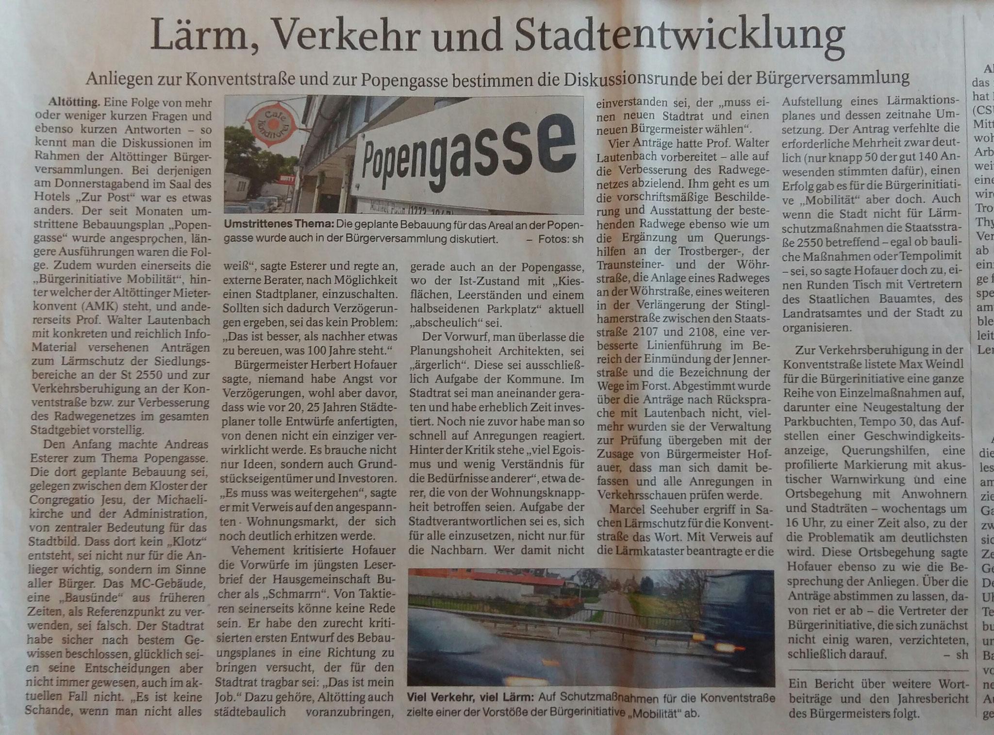Zeitungsbericht No.1. vom 18. November 2017 (ANA)