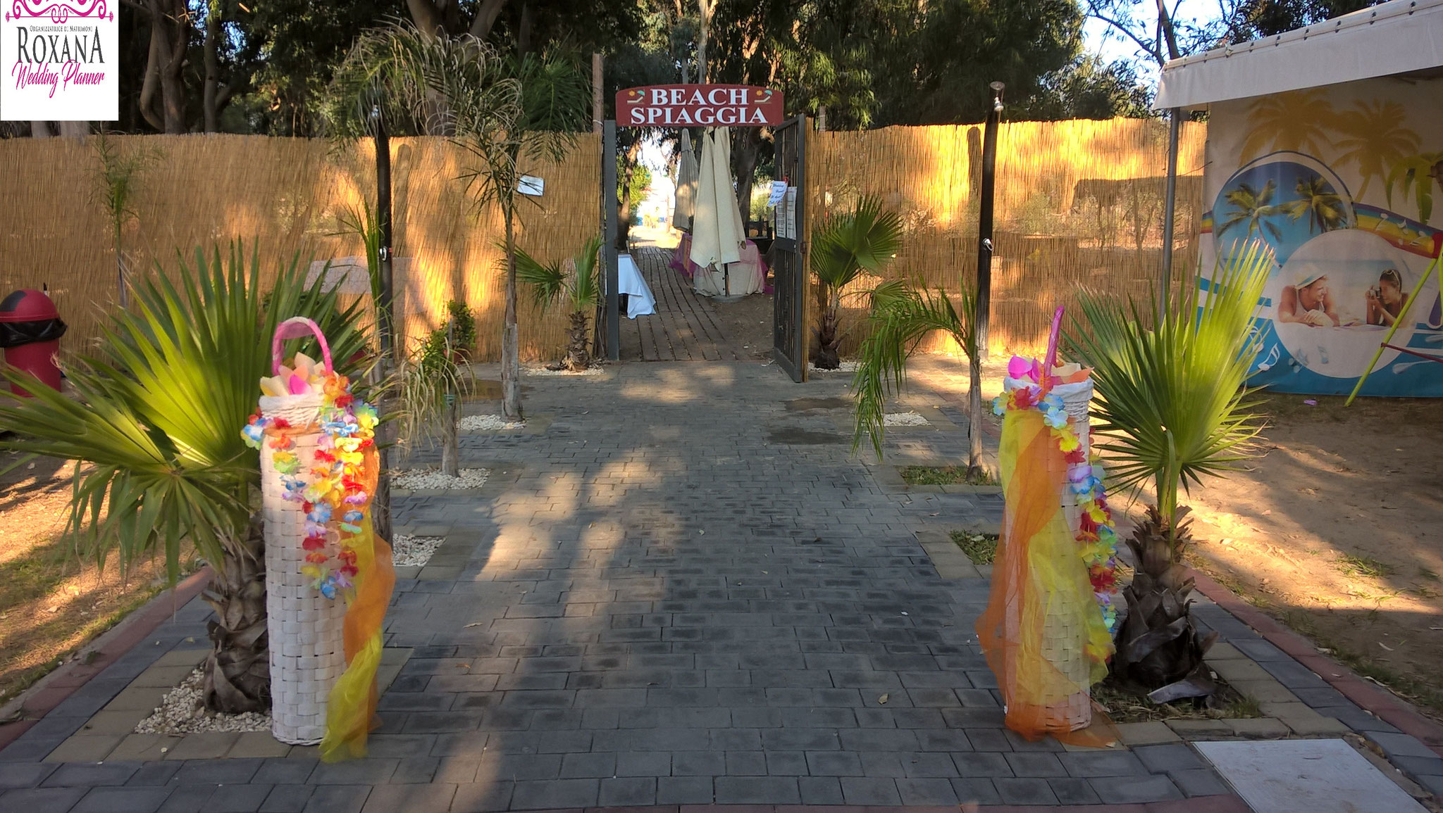 Matrimonio Tema Hawaiano : Matrimonio in spiaggia sicilia roxana wedding planner