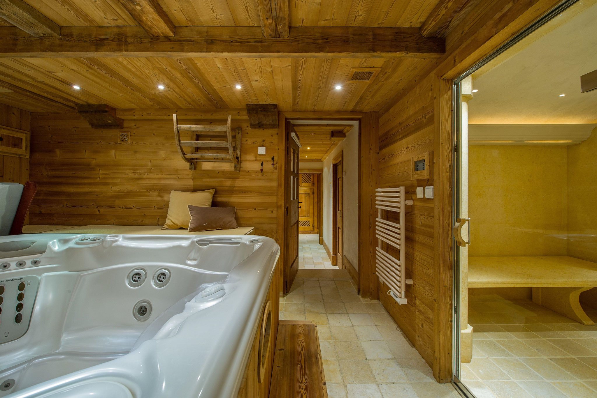 Hamam München luxury chalets ski in ski out luxury skiing made in germany