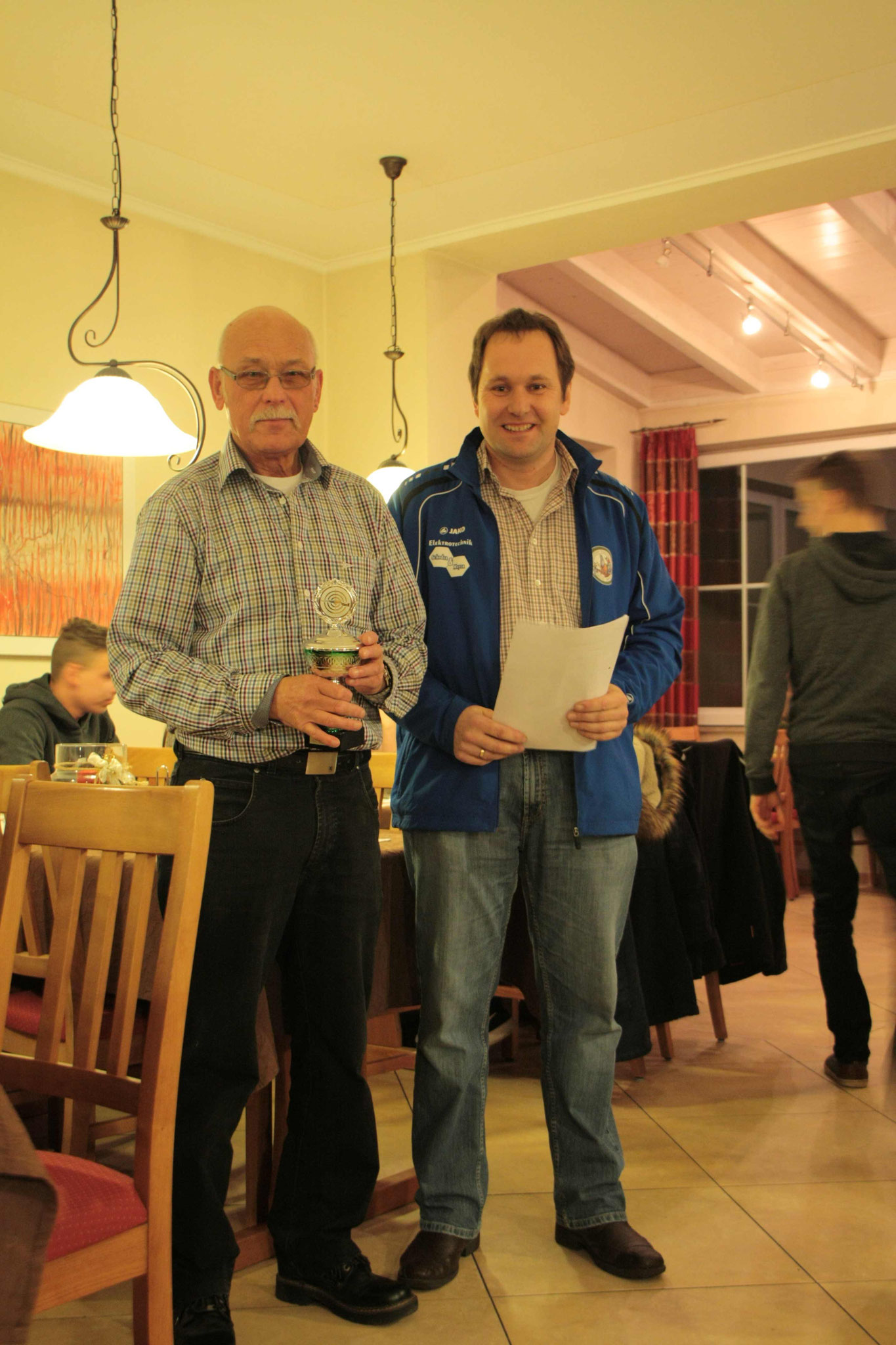 Vereinsmeister Senioren 2017: Werner Engelhardt