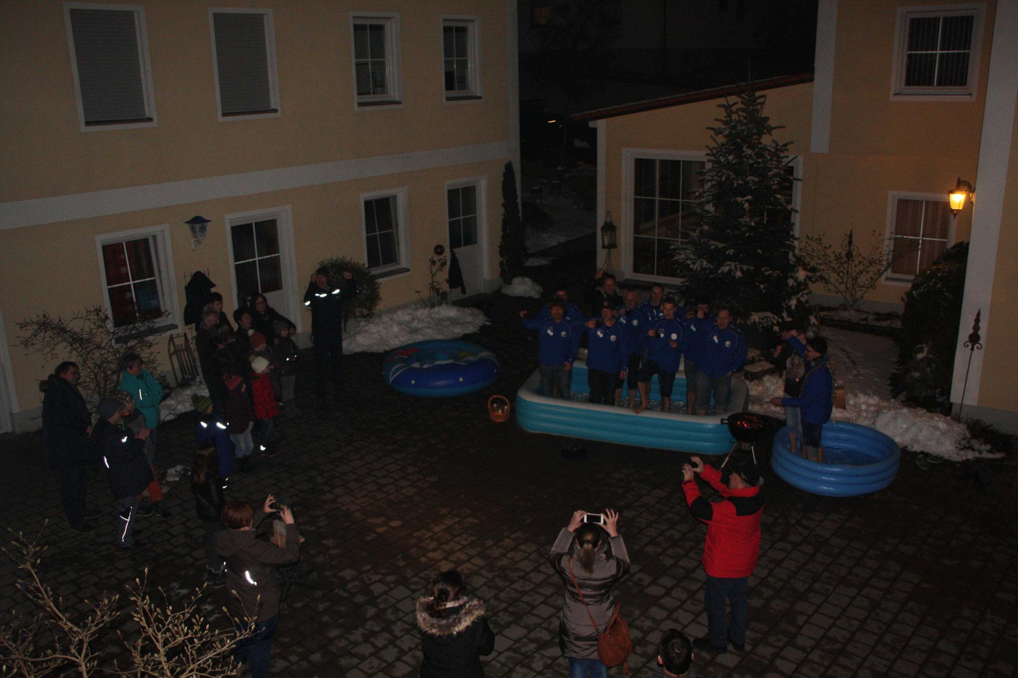 Cold Water Grill Challenge: der Schützenverein spendet 200,- EURO an den Kindergarten Wirbelwind in Walda
