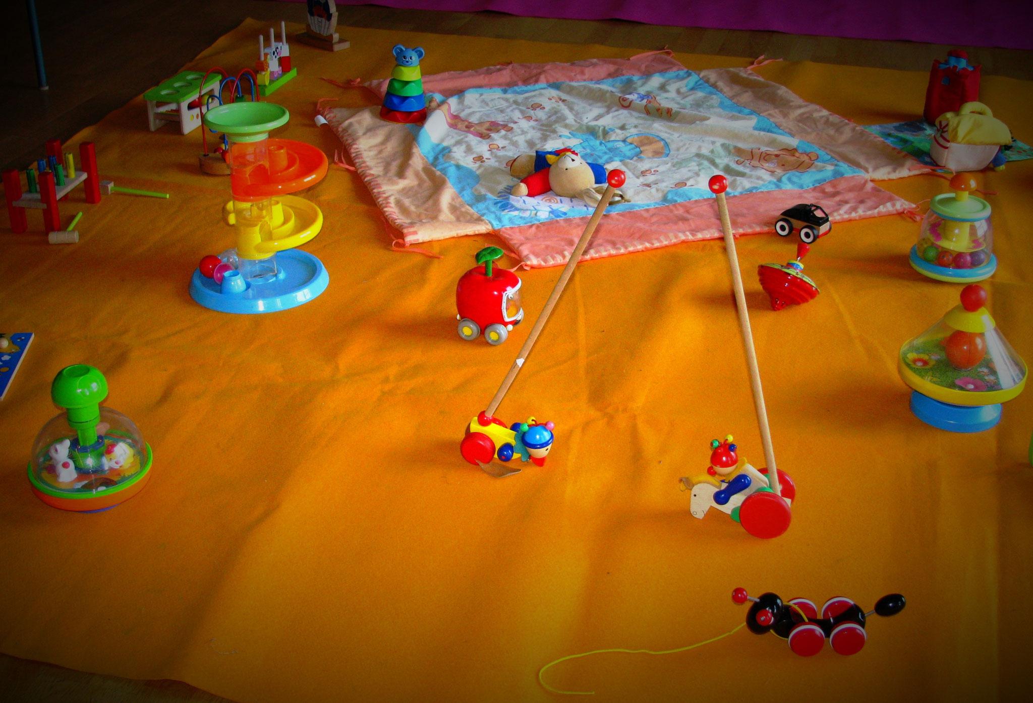 jeux d'exercice - manipulation et motricité