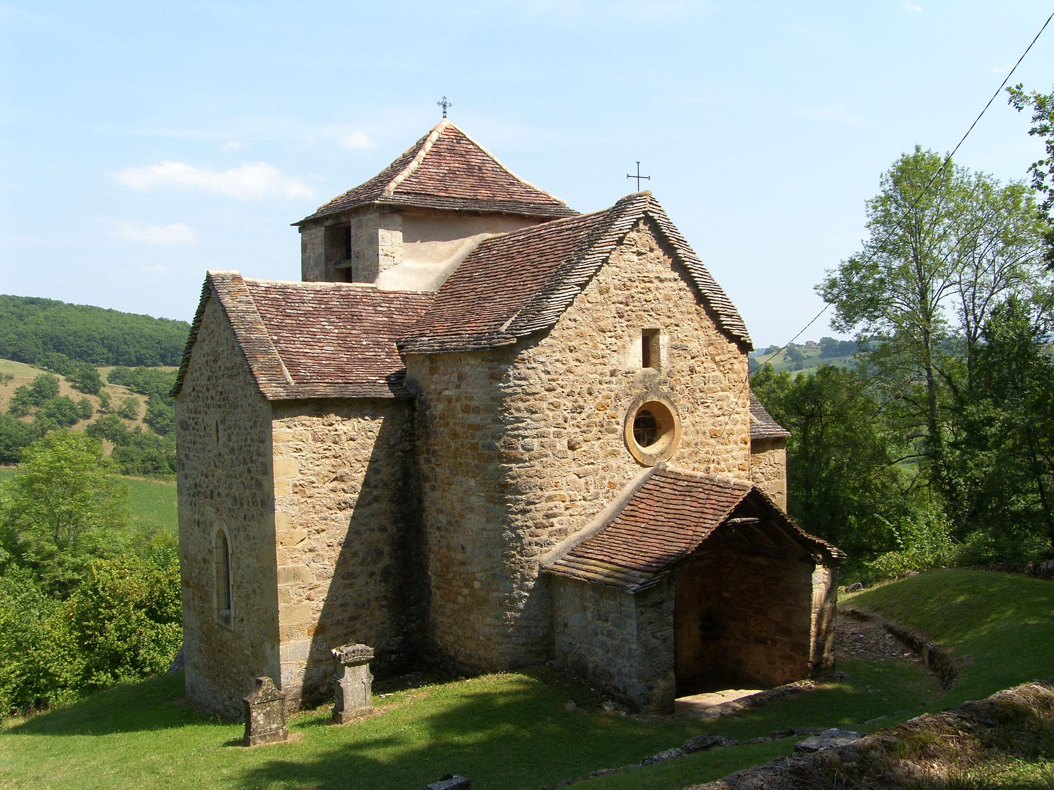 La chapelle préromane de Causse et Diège