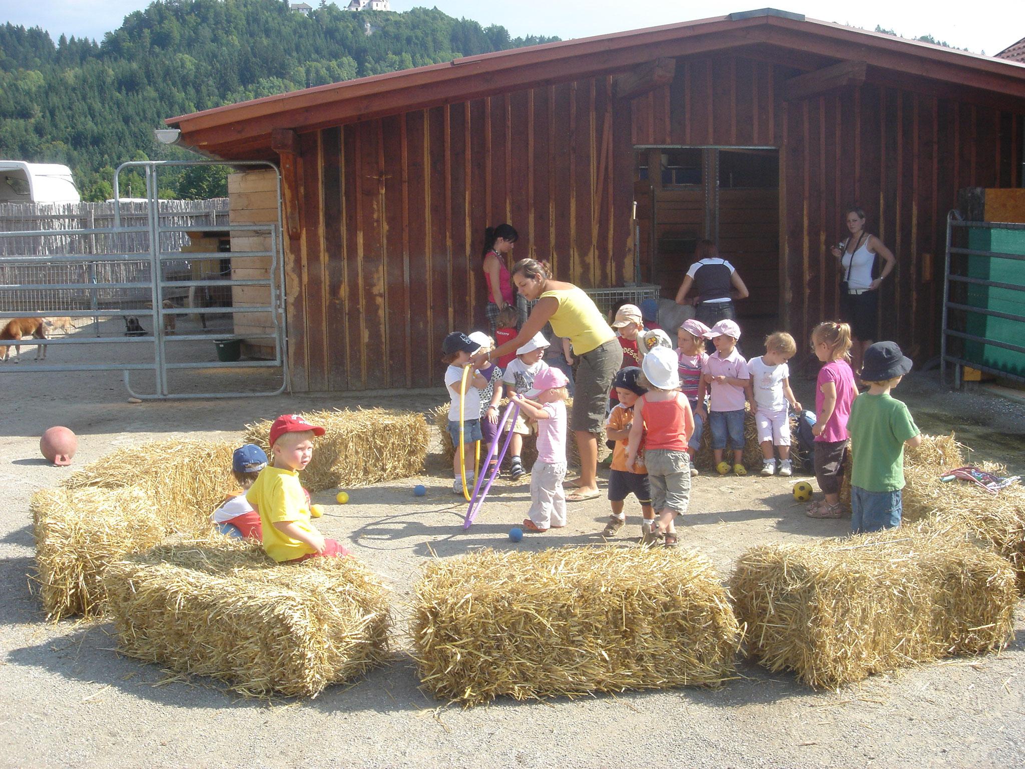 Das Mini im Einsatz in Kindergarten, Hort und Schule