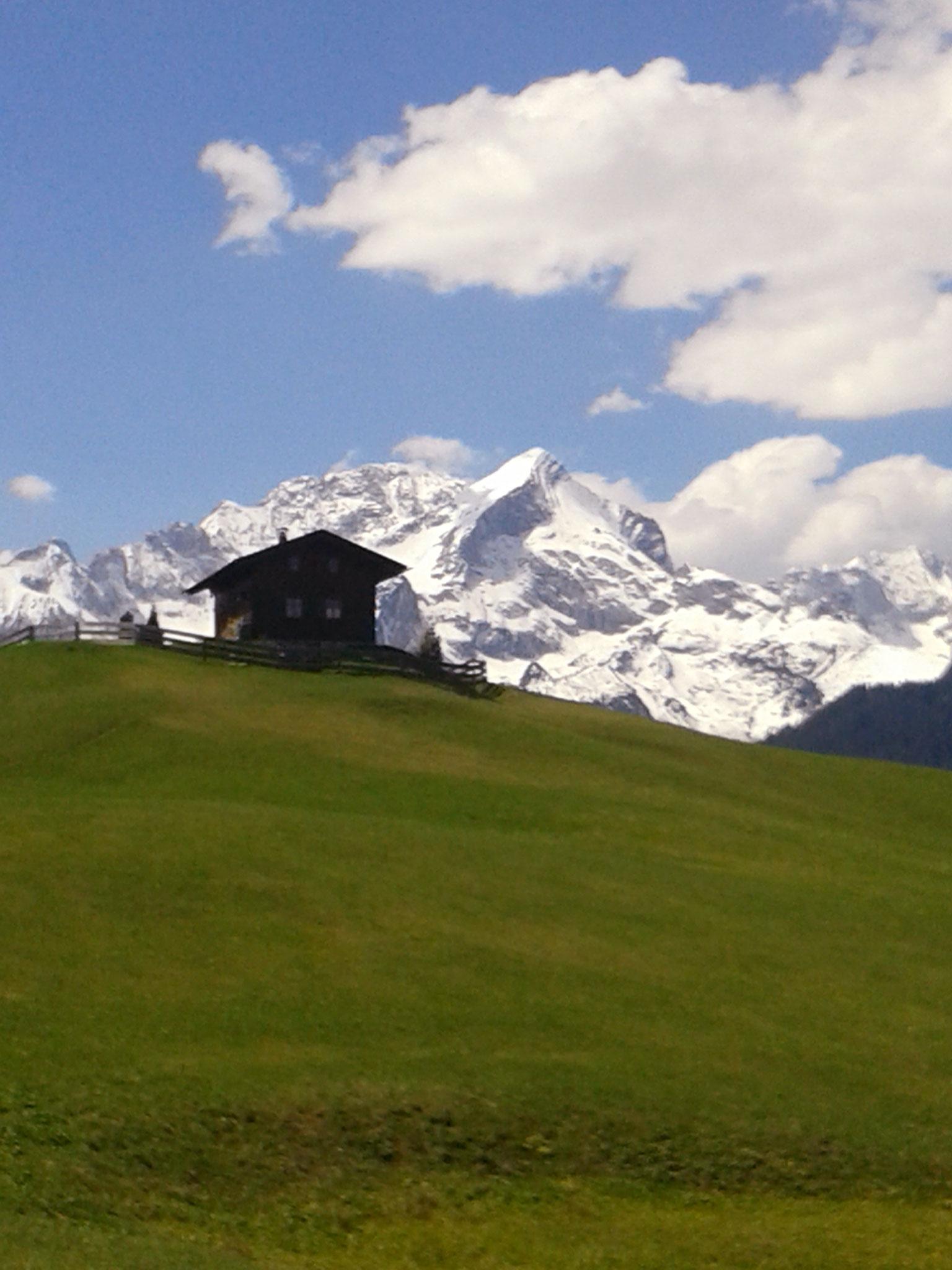 Eckbauer mit Alpspitze