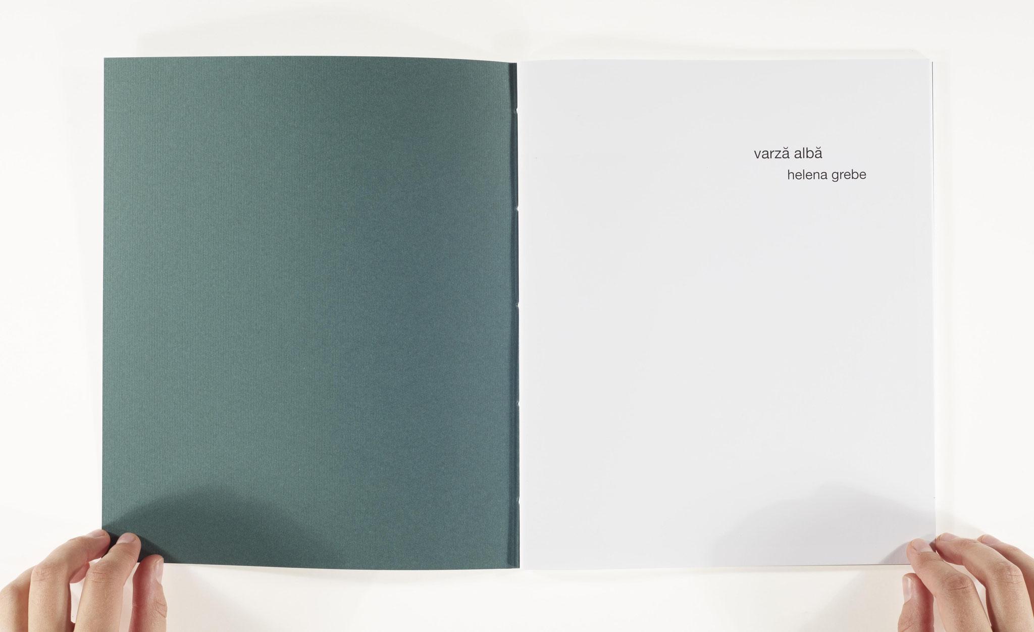 """aus dem Buch """"varză albă"""""""