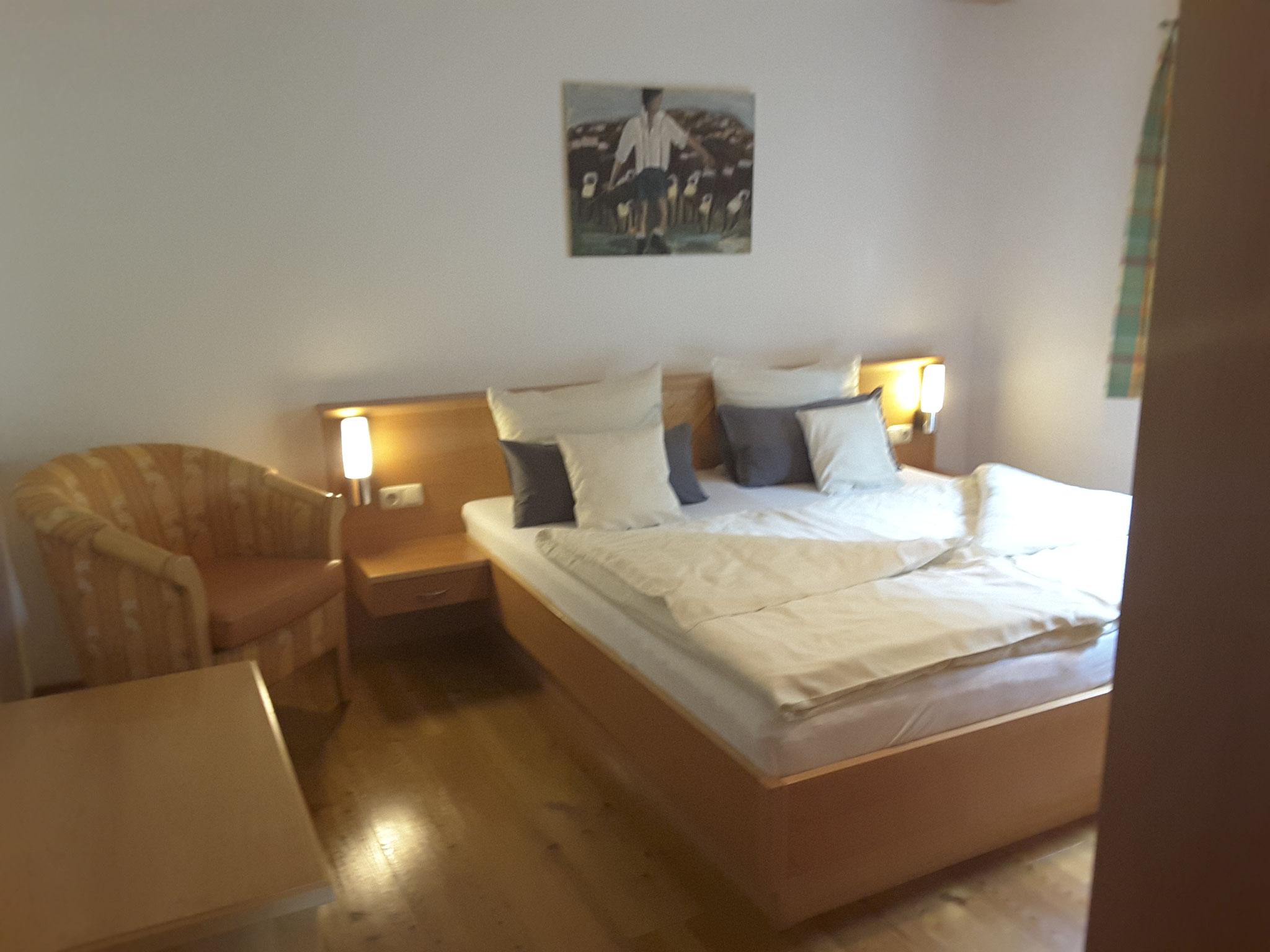 Schlafzimmer - Ferienwohnung 1 - Hilbrand Appartements