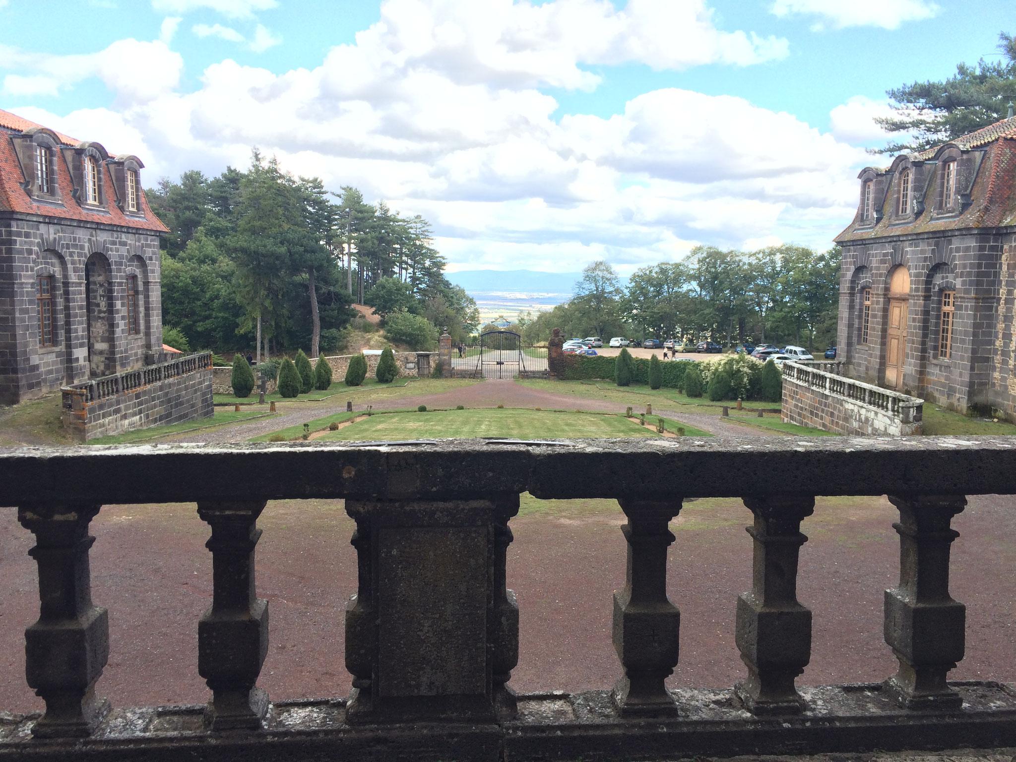 La vue depuis le château.