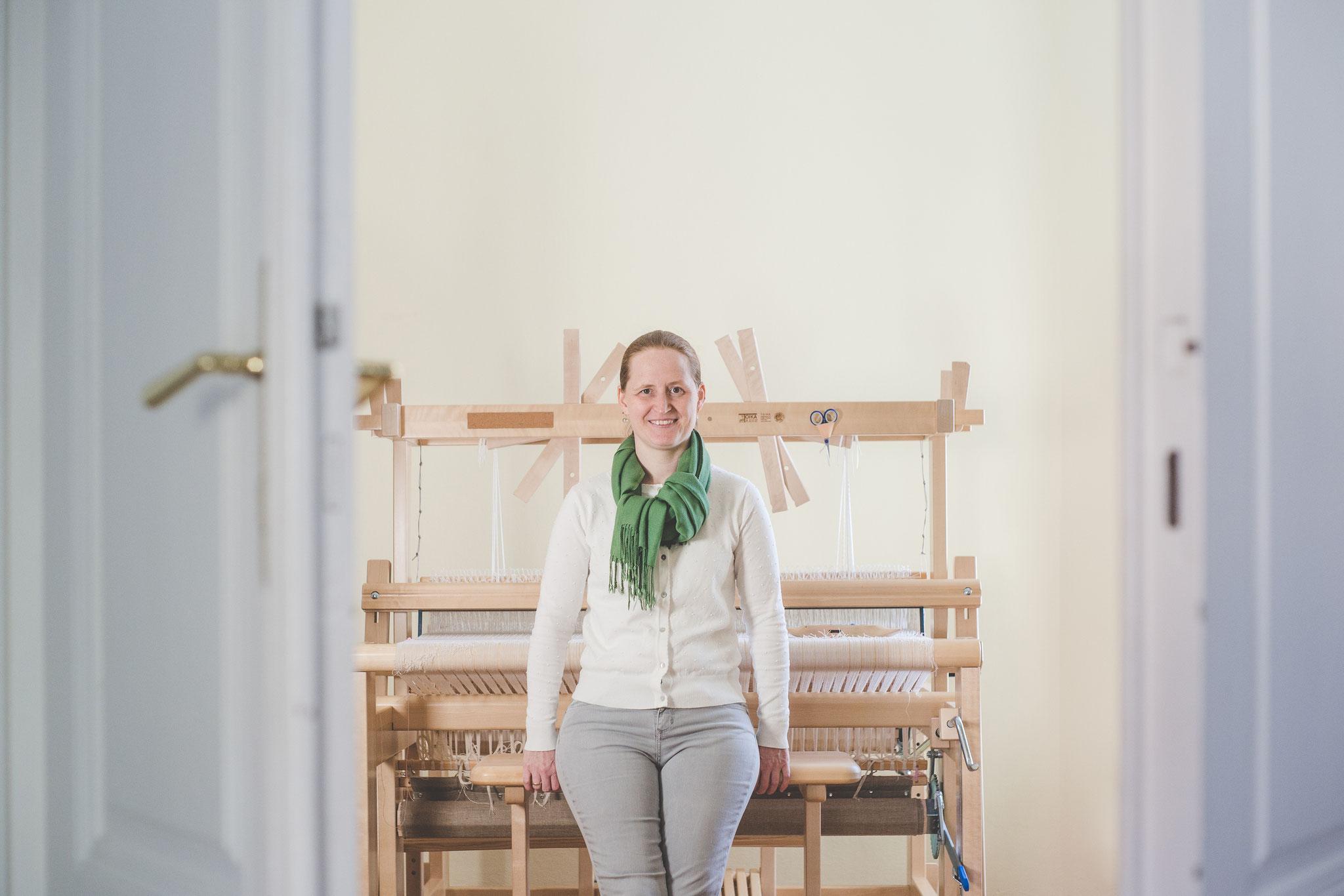 Doris Bigl, Die Musterweberei, Foto: JOfotografie/Joachim Otter