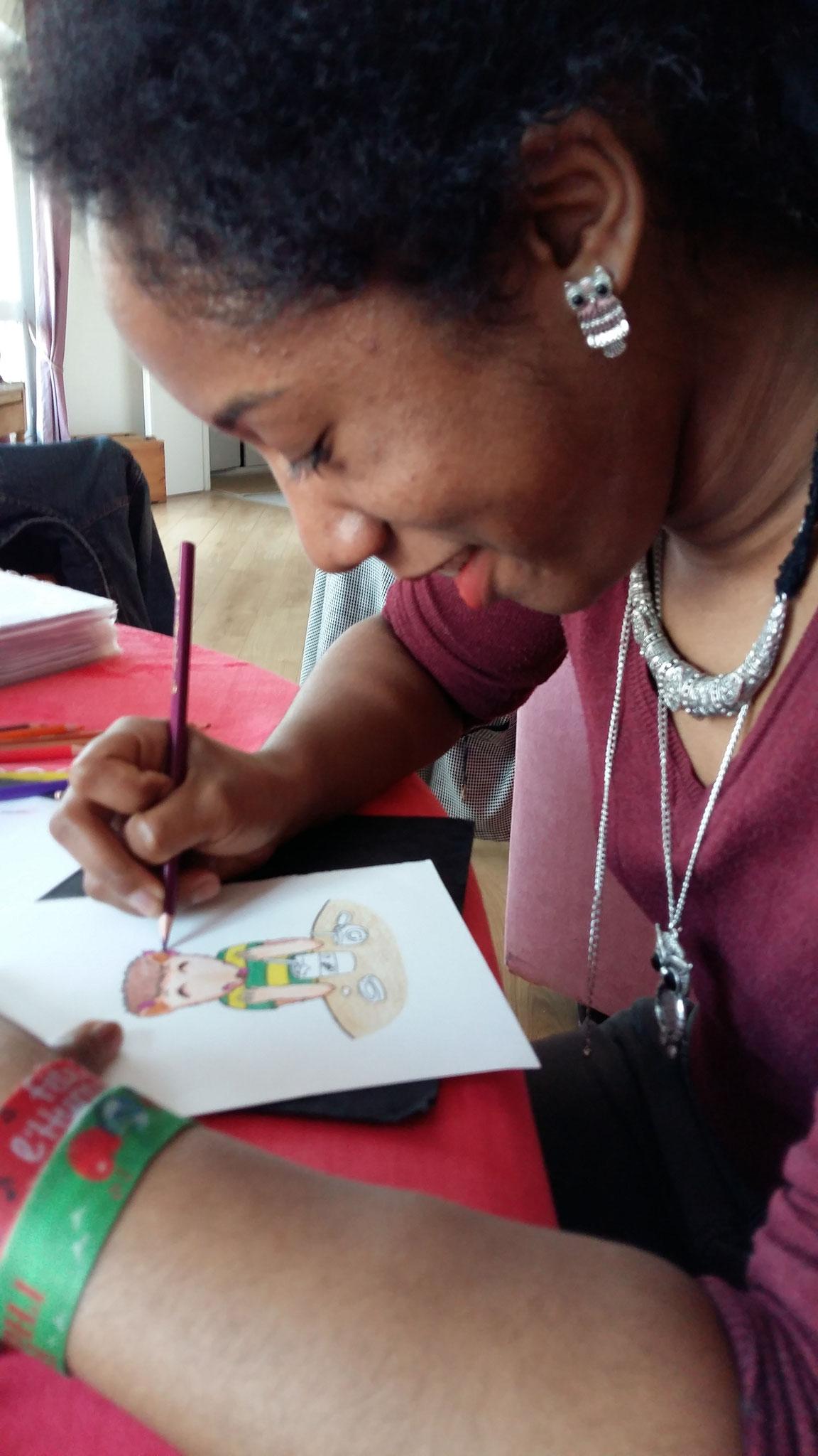 Julie Thézénas dessine Pit