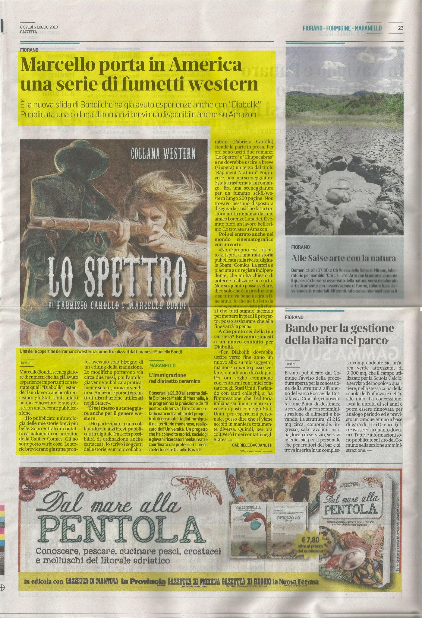 5 Luglio 2018 - Gazzetta Di Modena