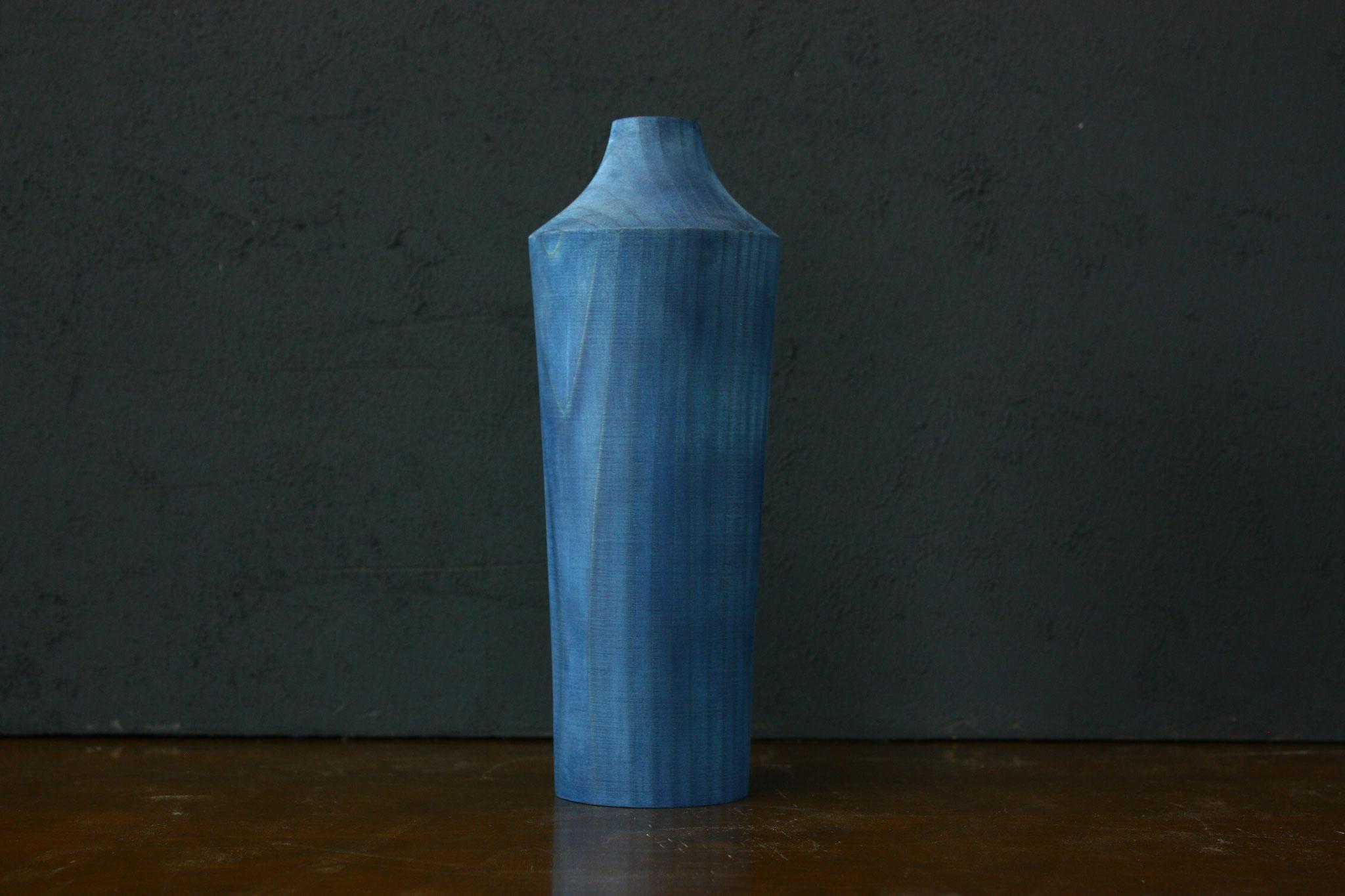 シダーベース 藍染め