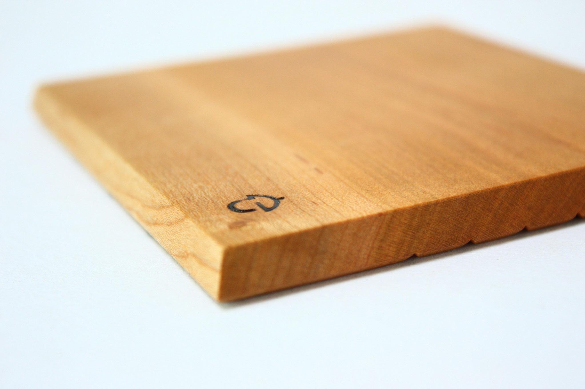 木 コースター  ノクターレ ロゴ