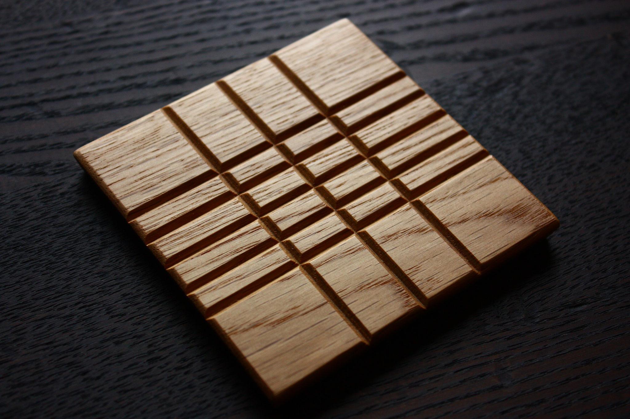 木 コースター  ナラ