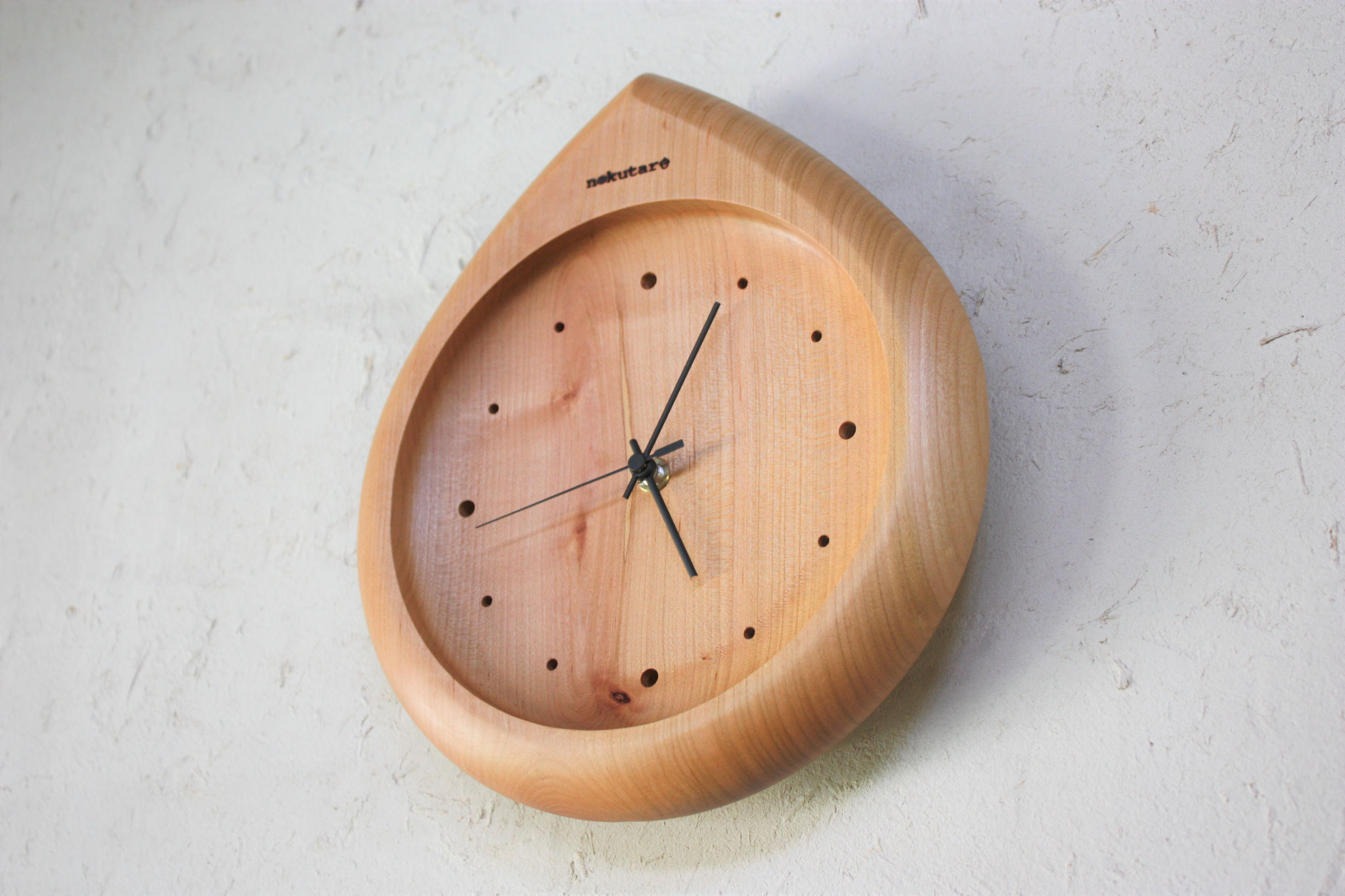 壁掛け時計 しずく