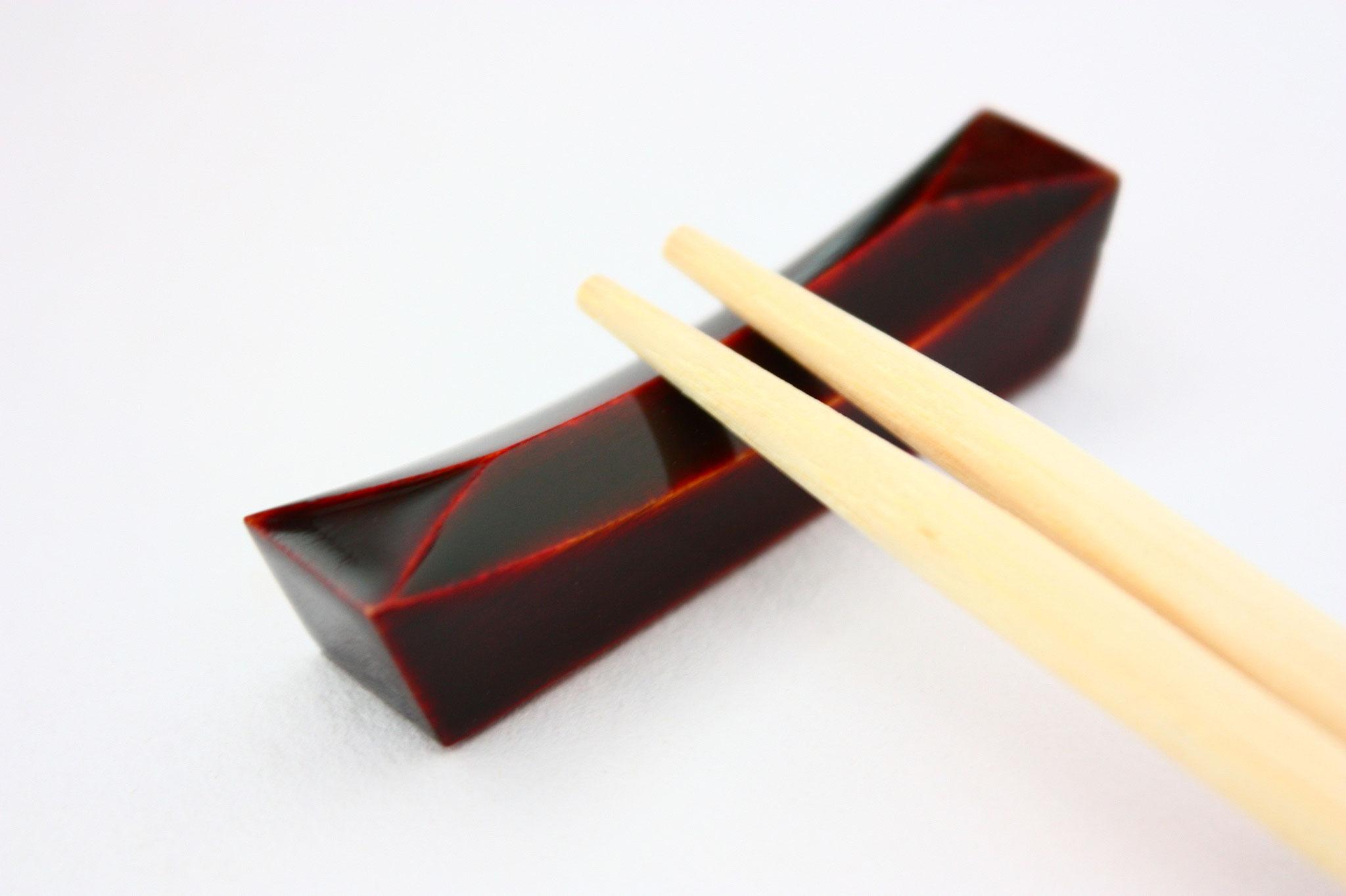 飛騨春慶の箸置き 漆塗り