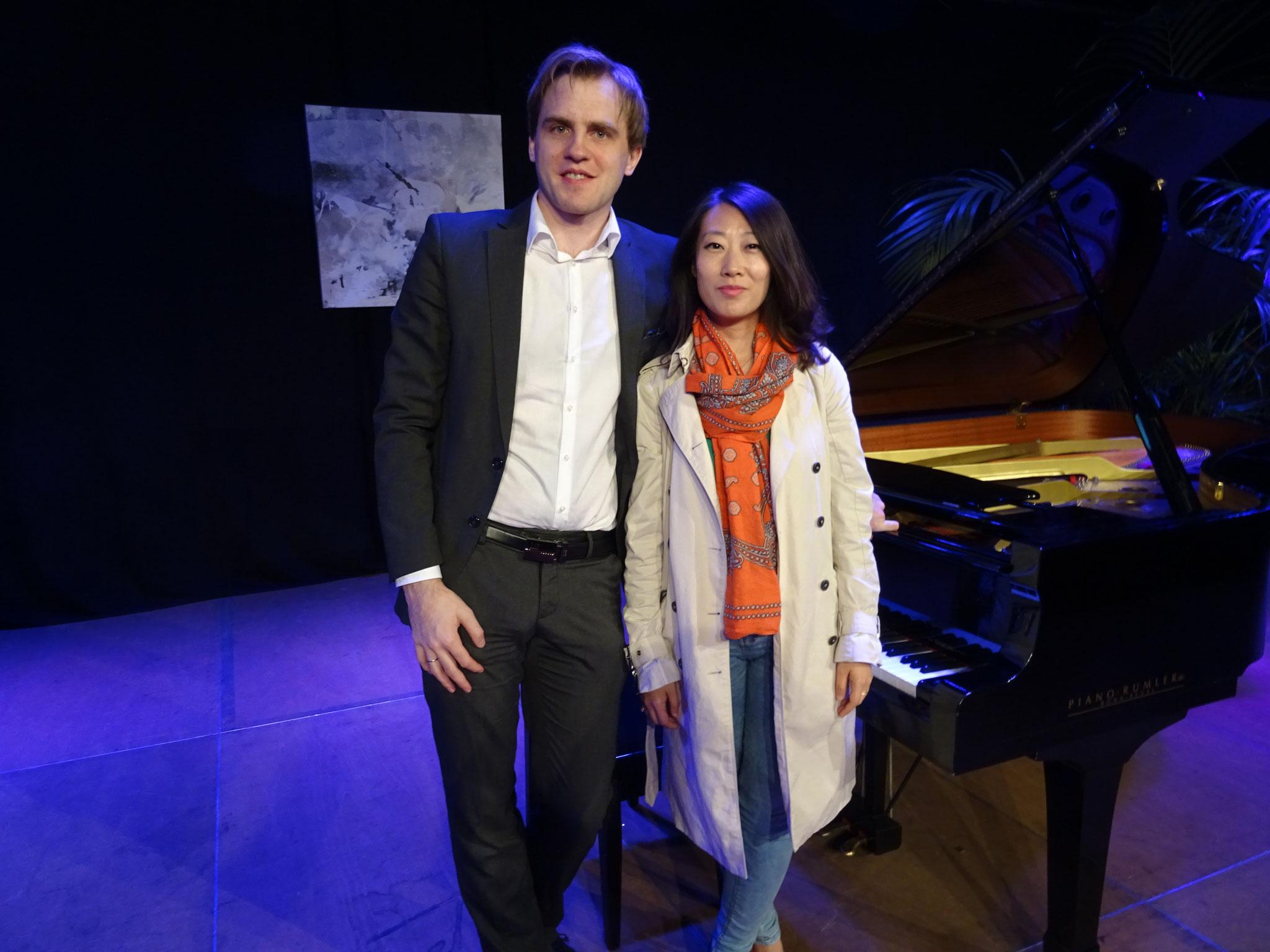 Florian Koltun kam zusammen mit Ehefrau Xin Wang nach Windeck.