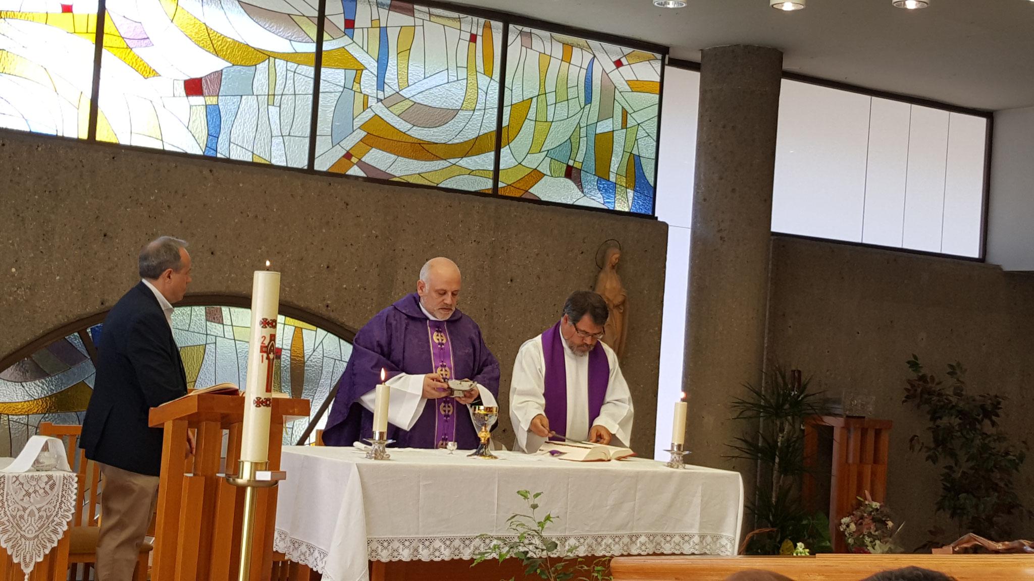 hacer de la Eucaristía el centro del día...
