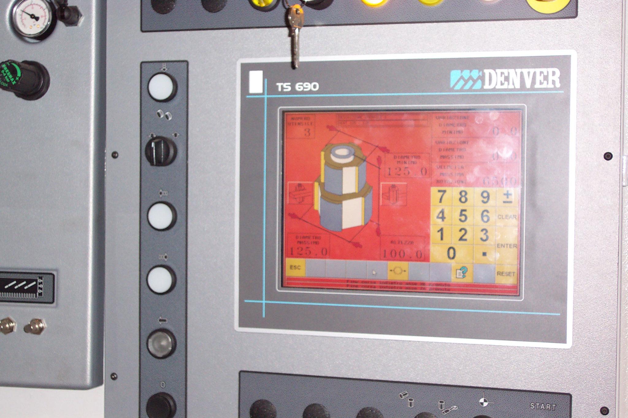 Touchscreen- Steuerung