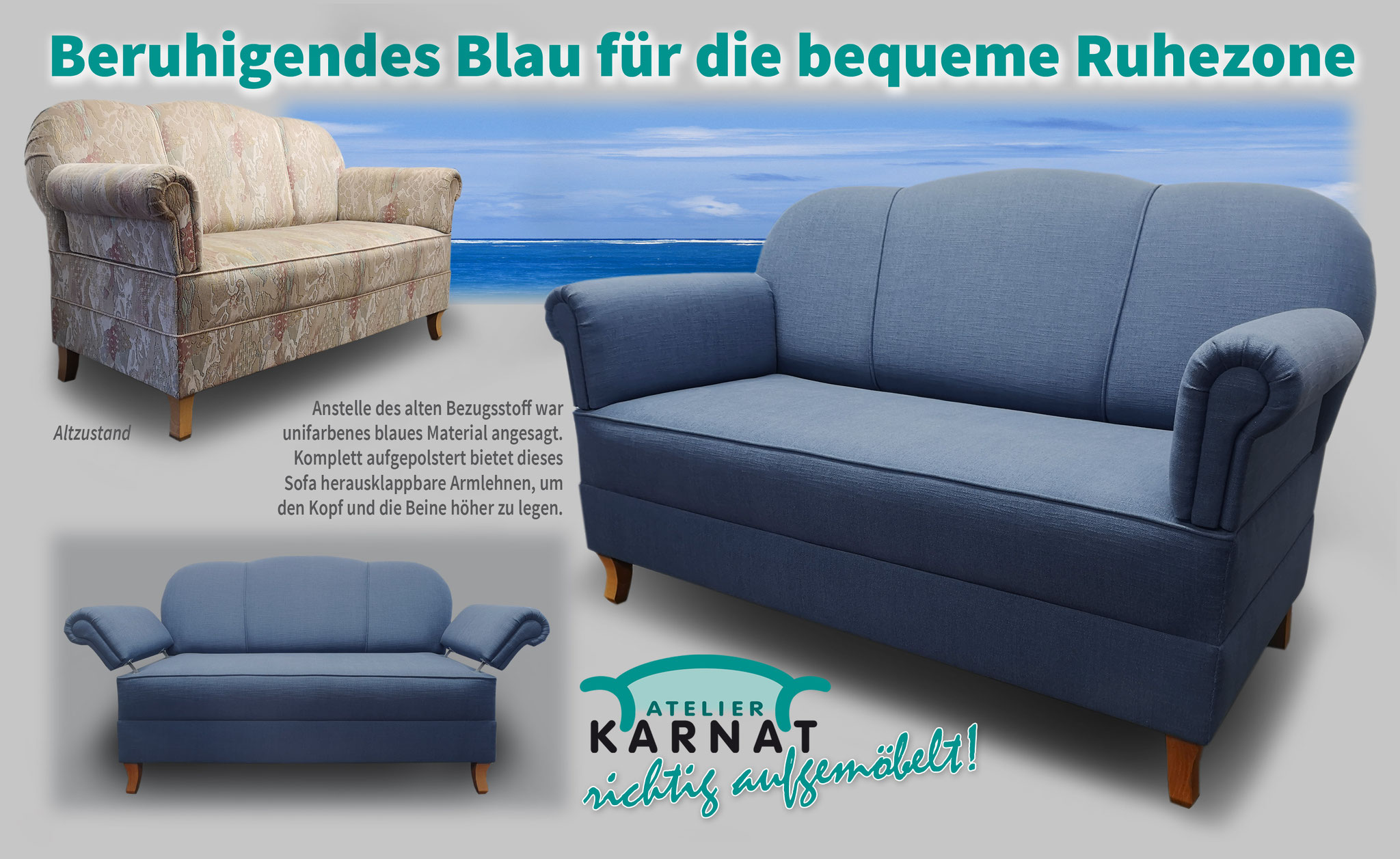 Sofas   Atelier Karnat   Polsterei   Raumausstattung