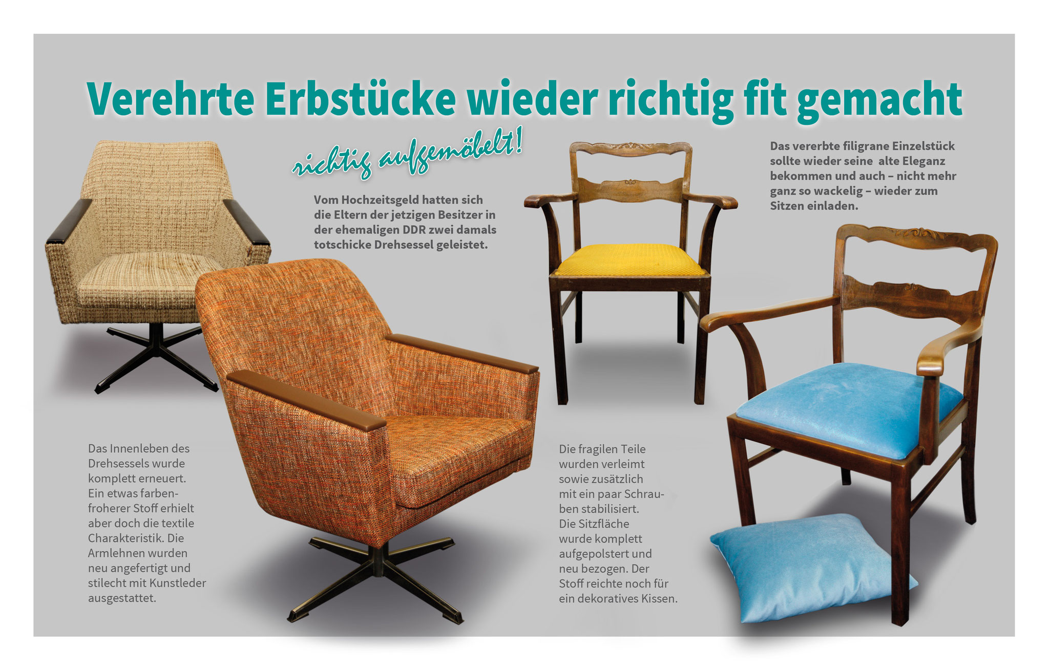 leistungen atelier karnat polsterei raumausstattung. Black Bedroom Furniture Sets. Home Design Ideas