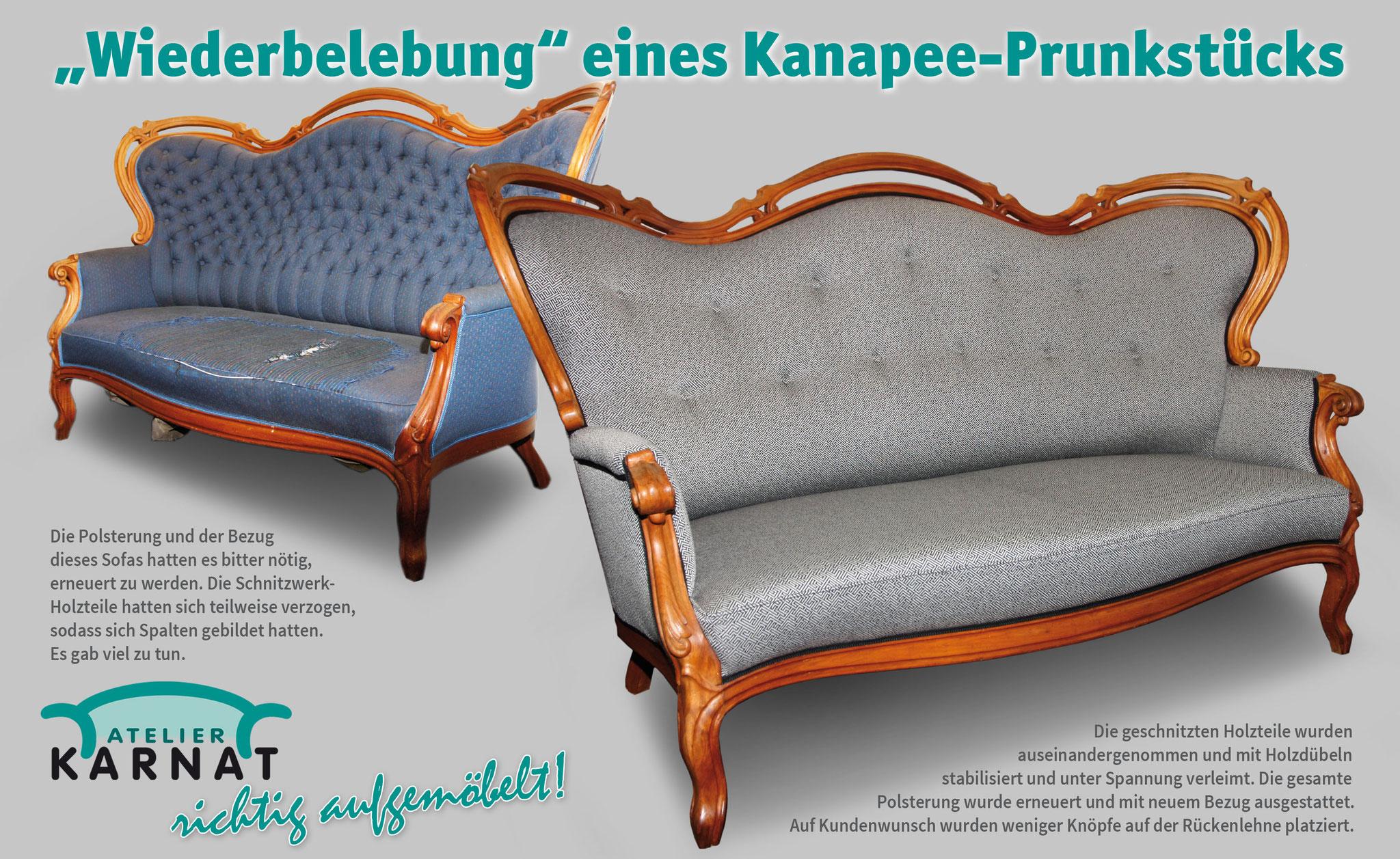 Das Besondere An Ser Couch Sind Verstellbaren Armlehnen Um Sie Zu Kopfteil Und Fußteil Für Bequemes Liegen Verstellen Wurde Komplett