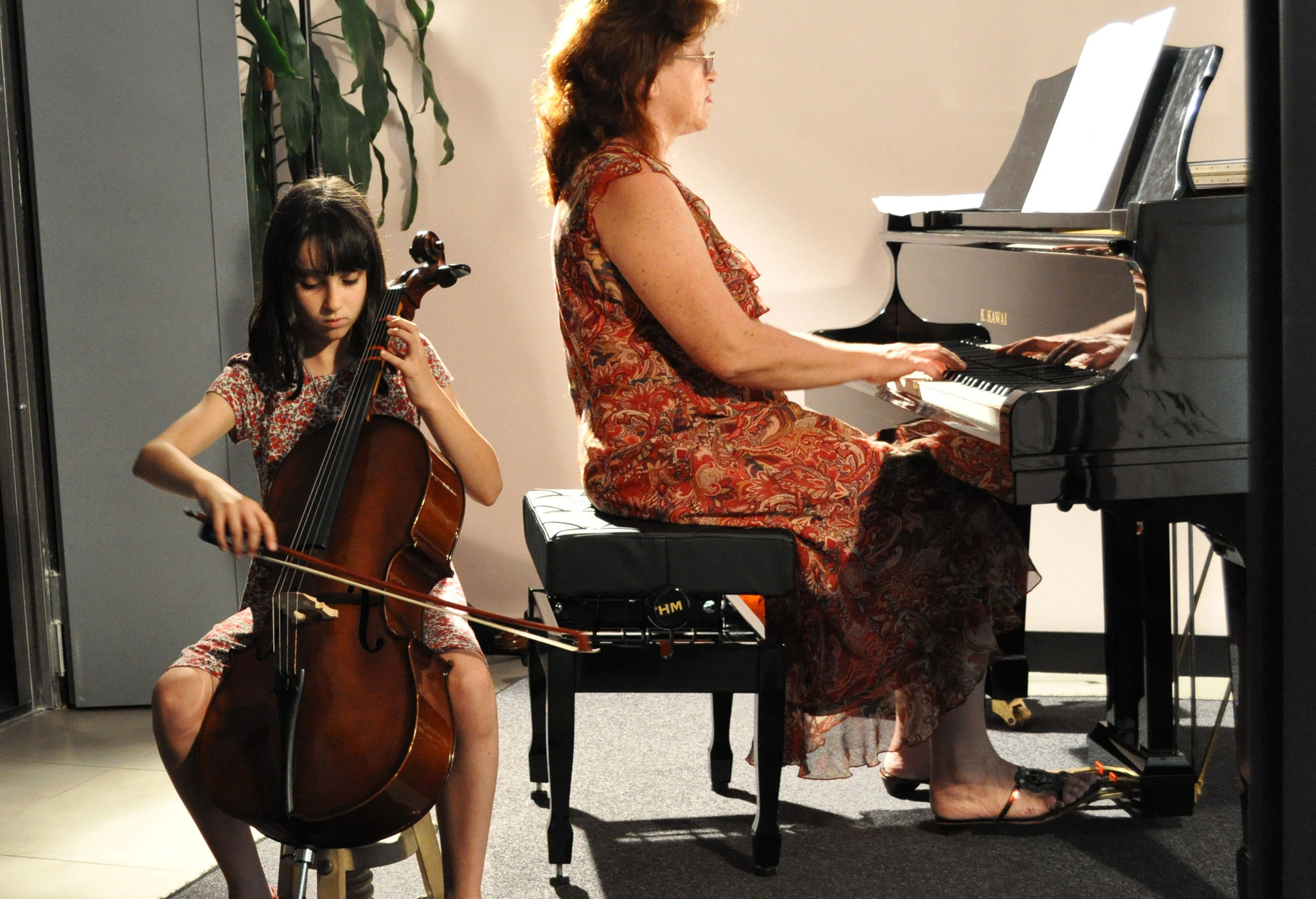 Audición de violonchelo