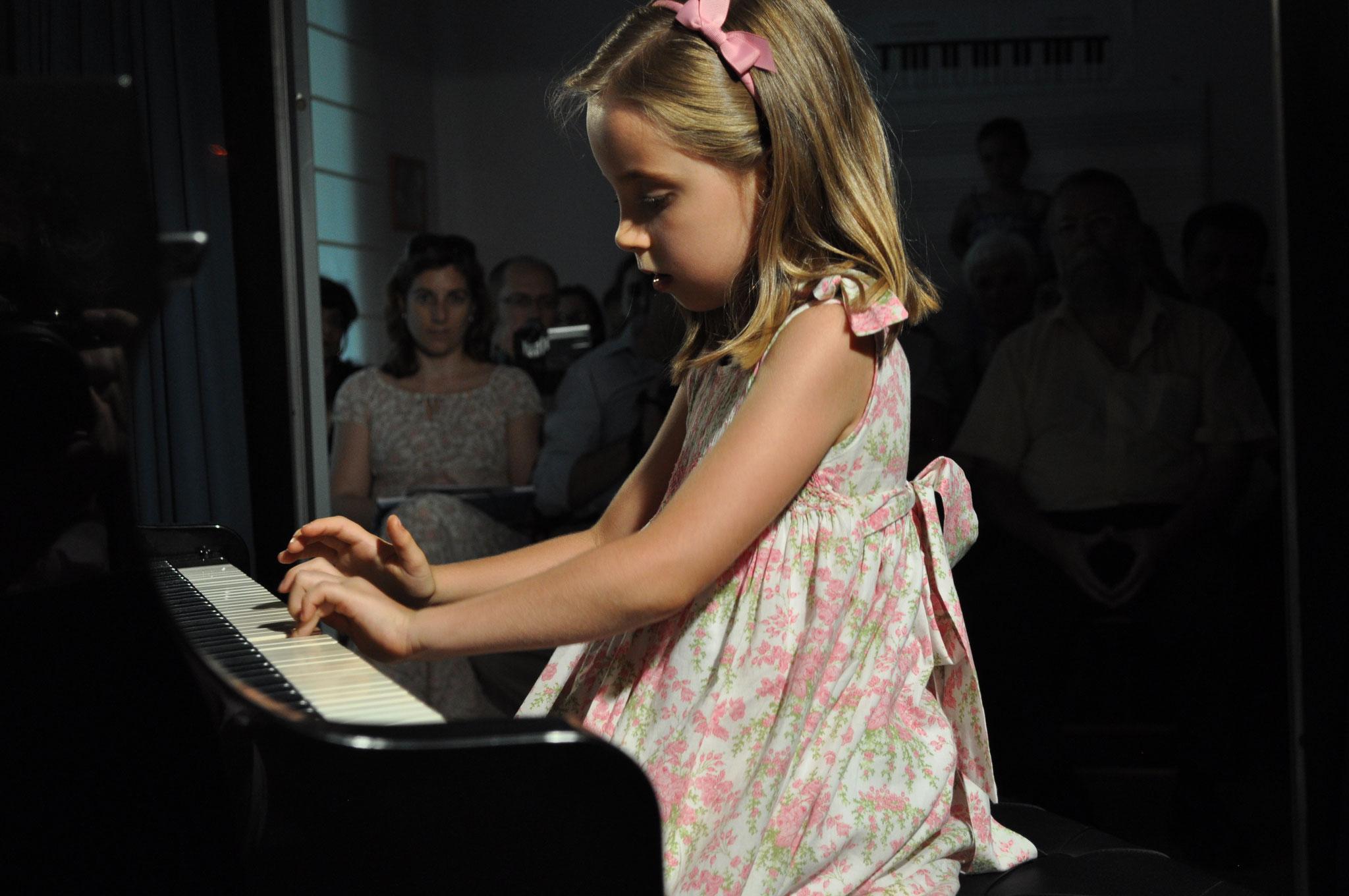 Audición de piano
