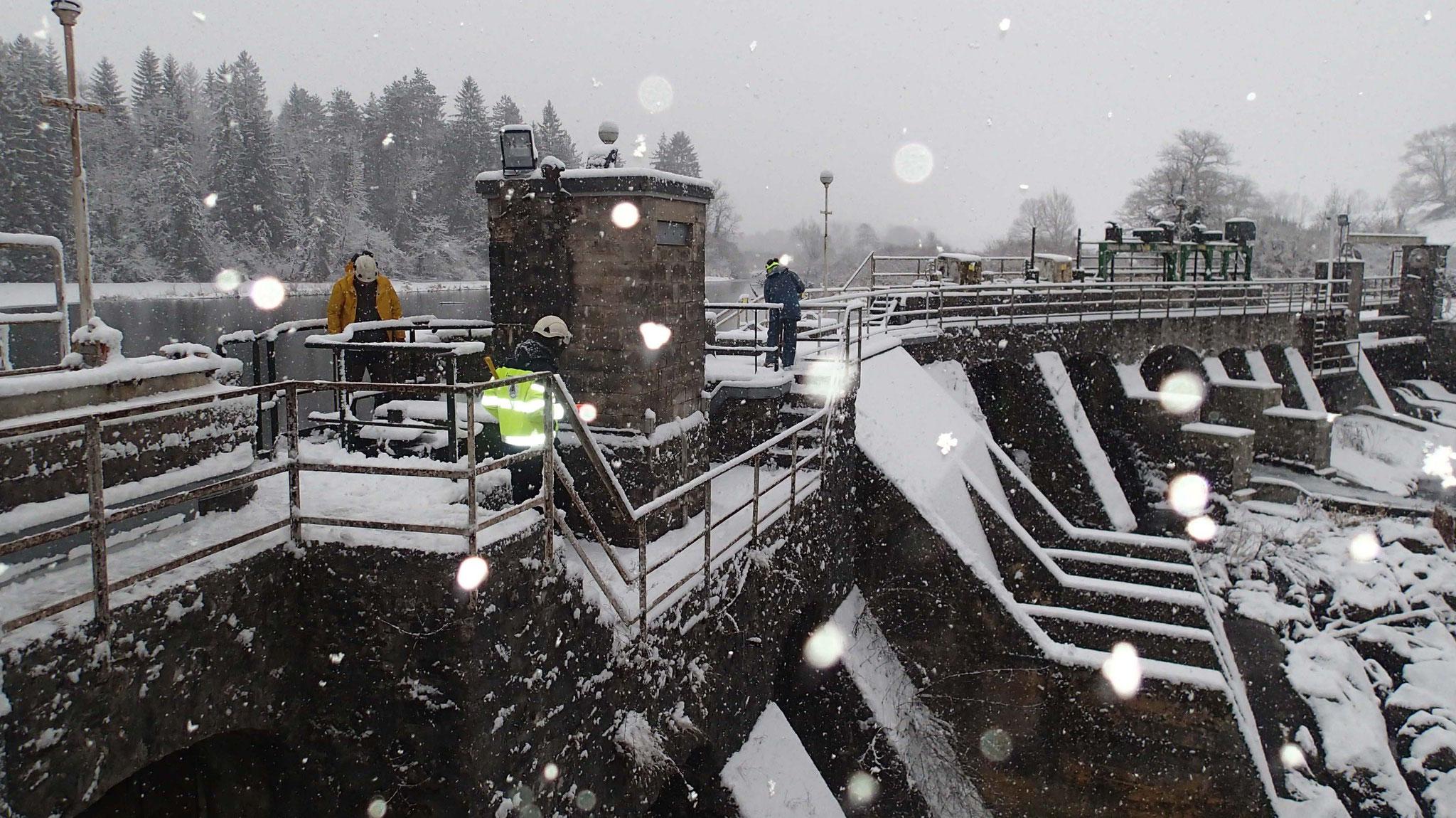 Diagnostic du barrage d'Intriat