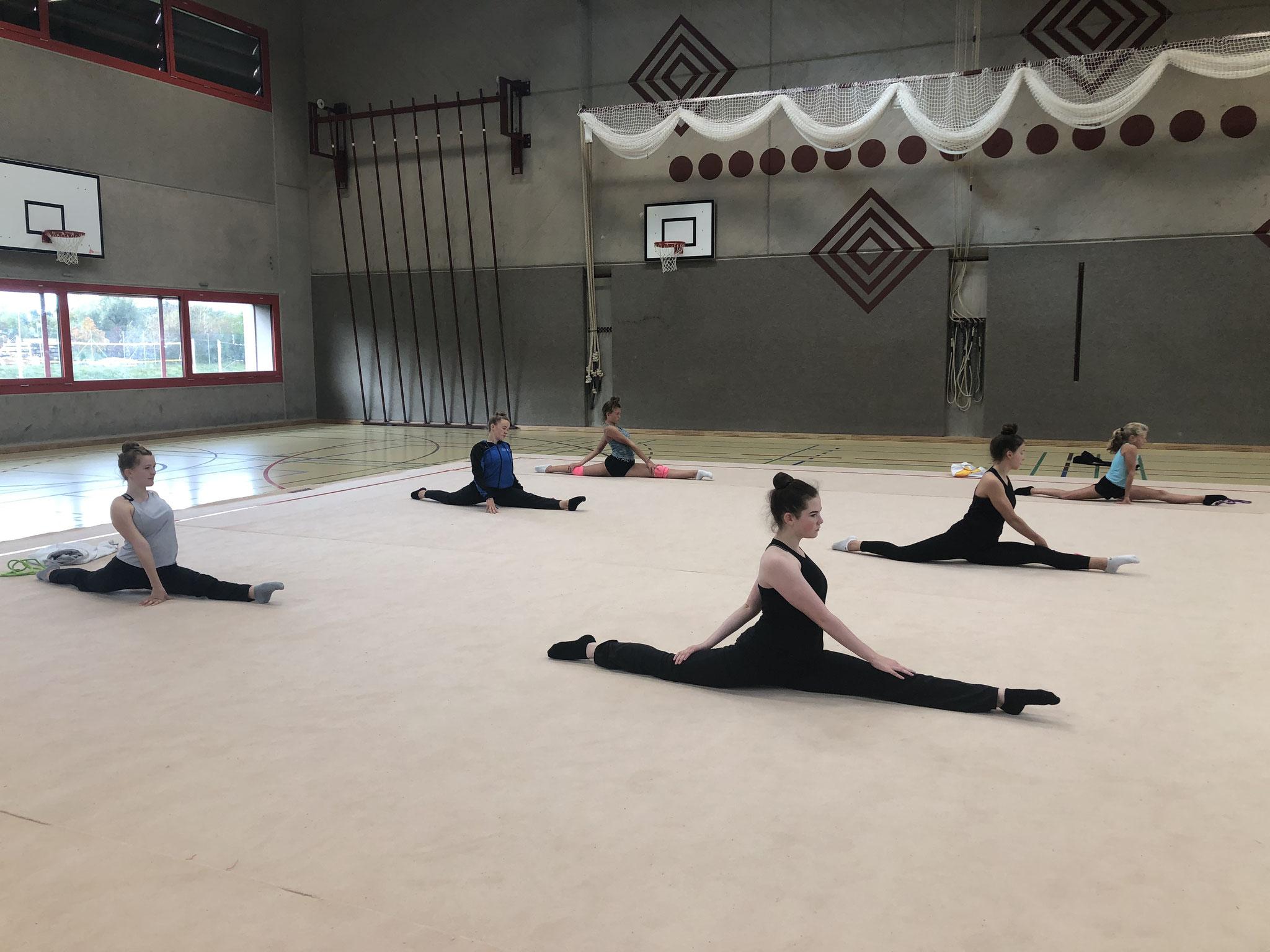 Rhythmische Gymnastik Herbstlager 2020