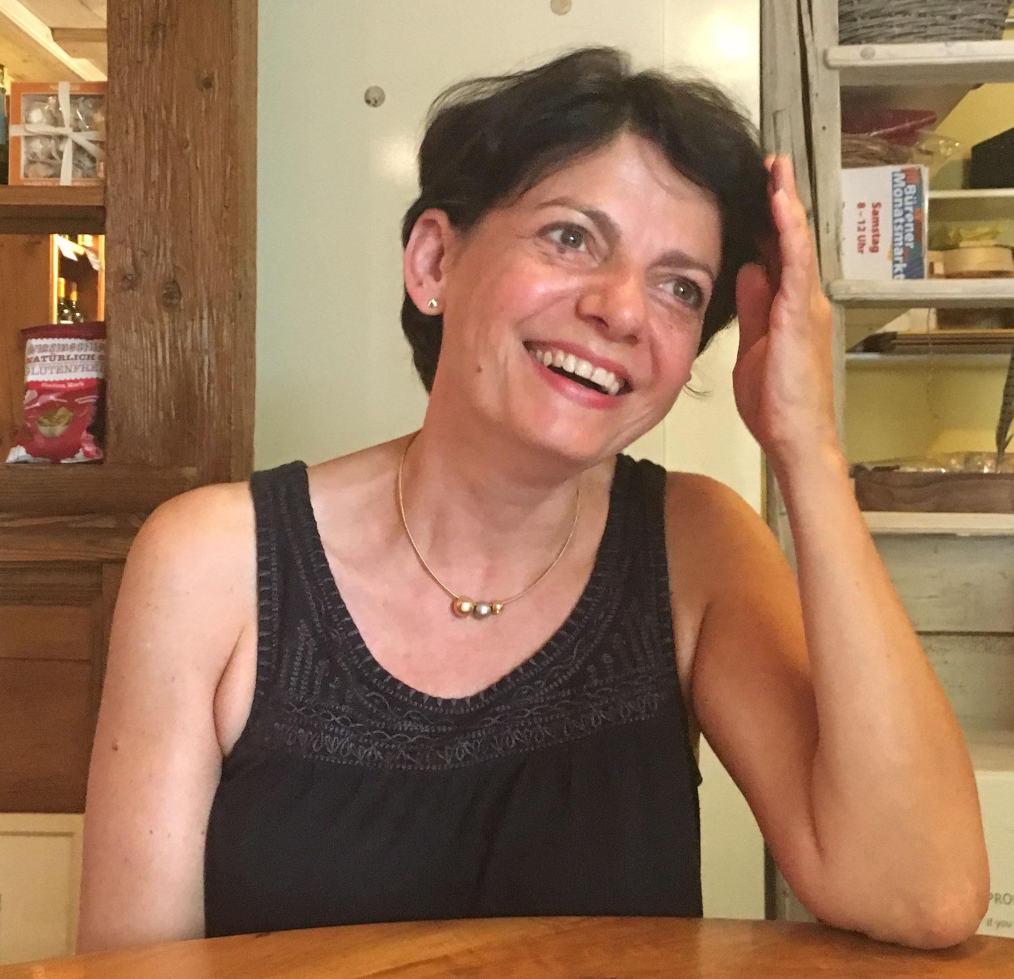 """Laura Meylan, Inhaberin - führt das """"da Laura"""" seit Dezember 2006."""