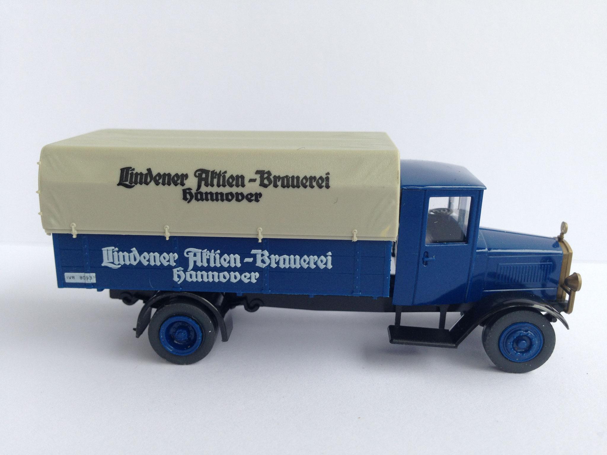 Mercedes L5 Bierwagen Lindener, Art. Nr. 1004 (ab 1988 im Programm)