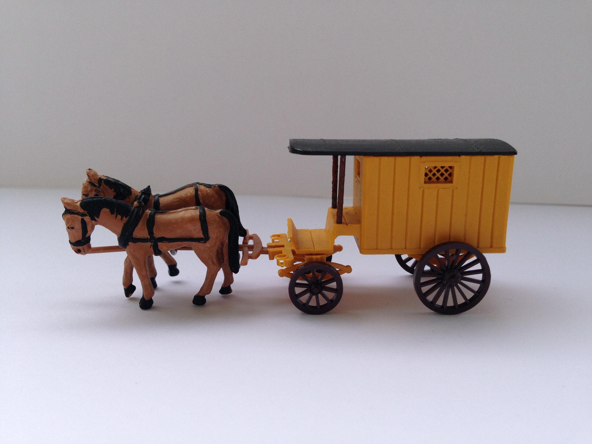 Lieferwagen mit Pferdegespann, Art. Nr. 209 (ab 1956/57 im Programm)