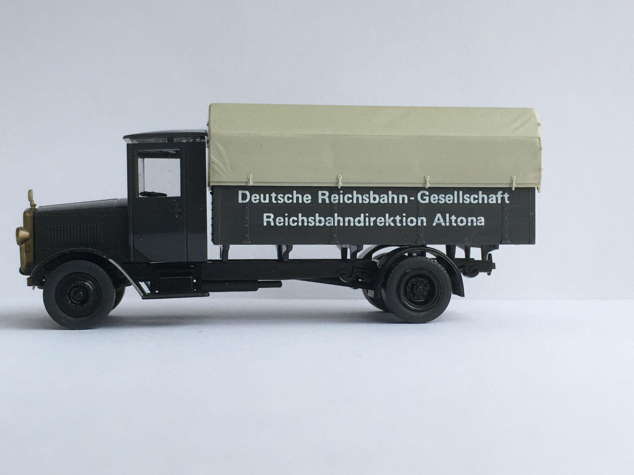Mercedes L5 Deutsche Reichsbahn-Gesellschaft, Altona, Art. Nr. 1011 (ab 1989 im Programm)