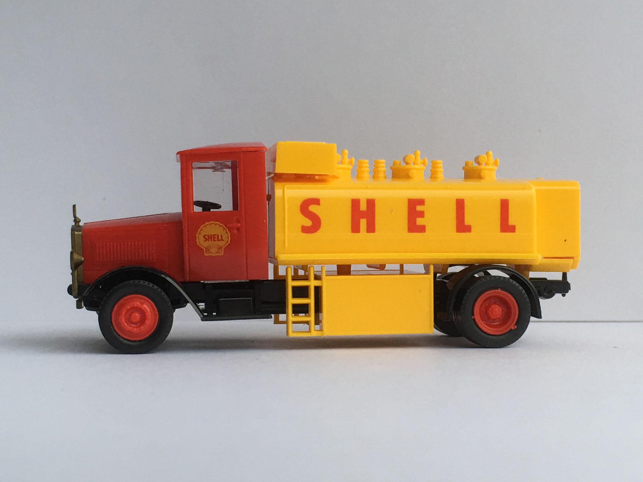 Mercedes L5 Tankwagen Shell, Art. Nr. 362 (ab 1992/93 im Programm)