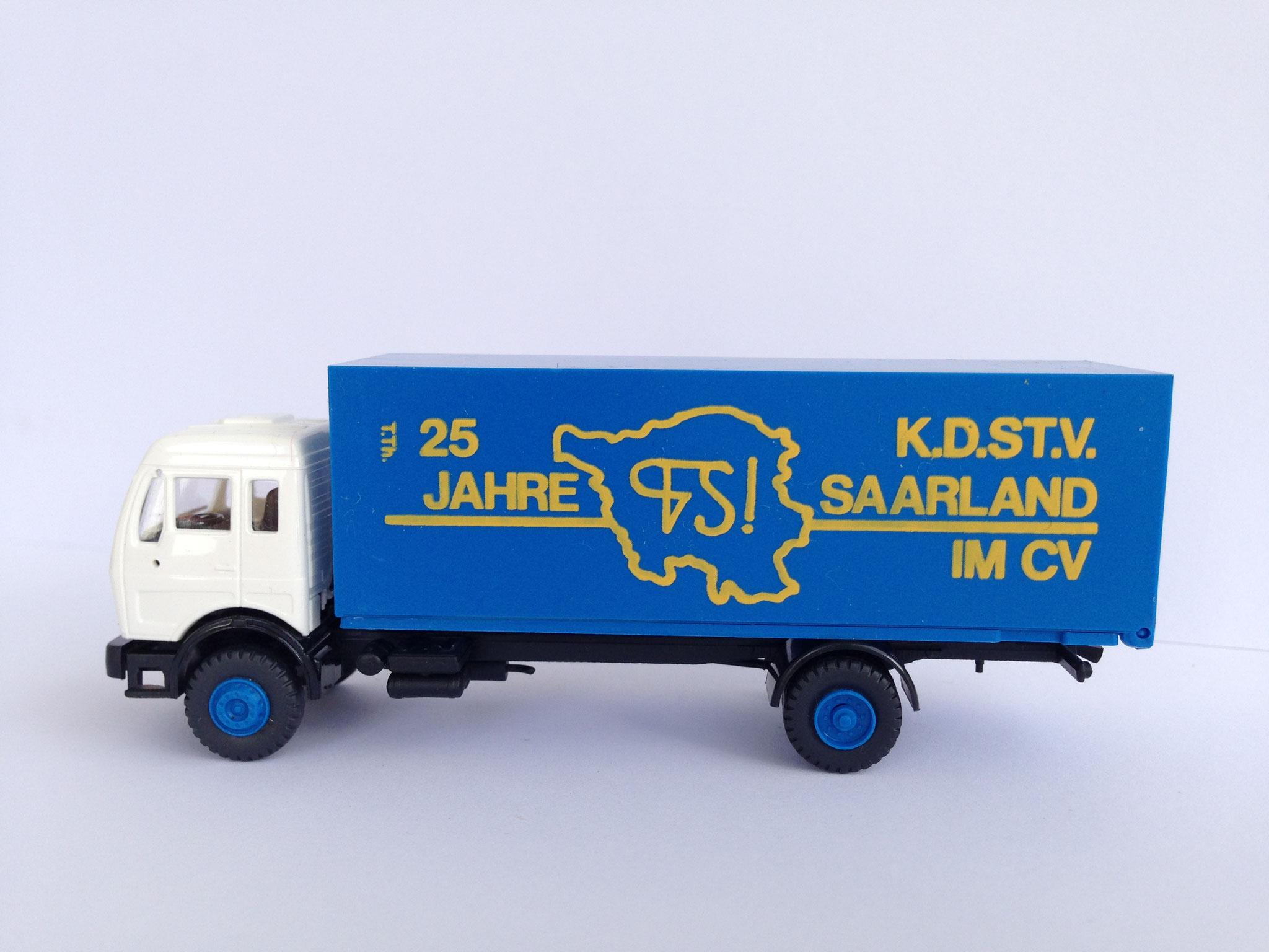 25 Jahre FS K.D.ST.V Saarland 2-Achser, Kasten