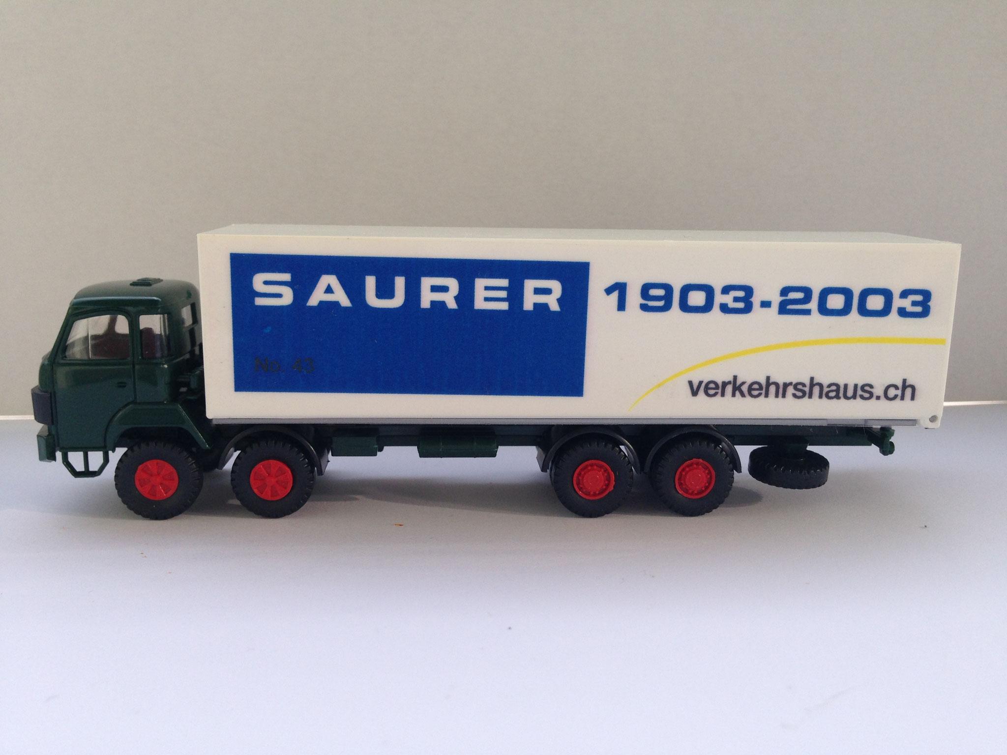 Verkehrshaus Luzern, 4-Achser Kasten, Sondermodell