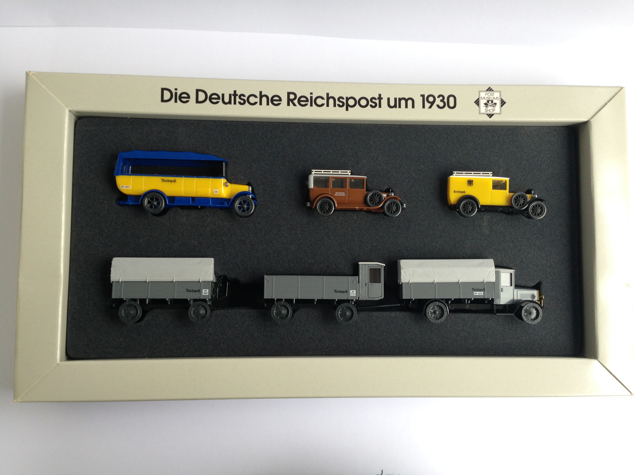 "Set ""Die Deutsche Reichspost um 1930"" (Post-Museums-Shop Nr. 66-50), 1996"