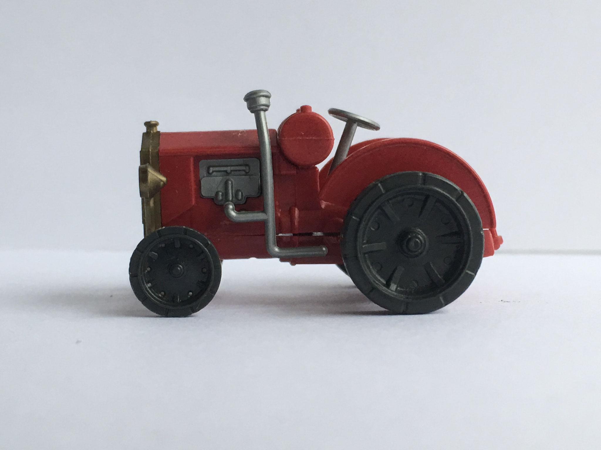 Hanomag WD-Radschlepper, rot, Art. Nr. 290 (ab 1991 im Programm)