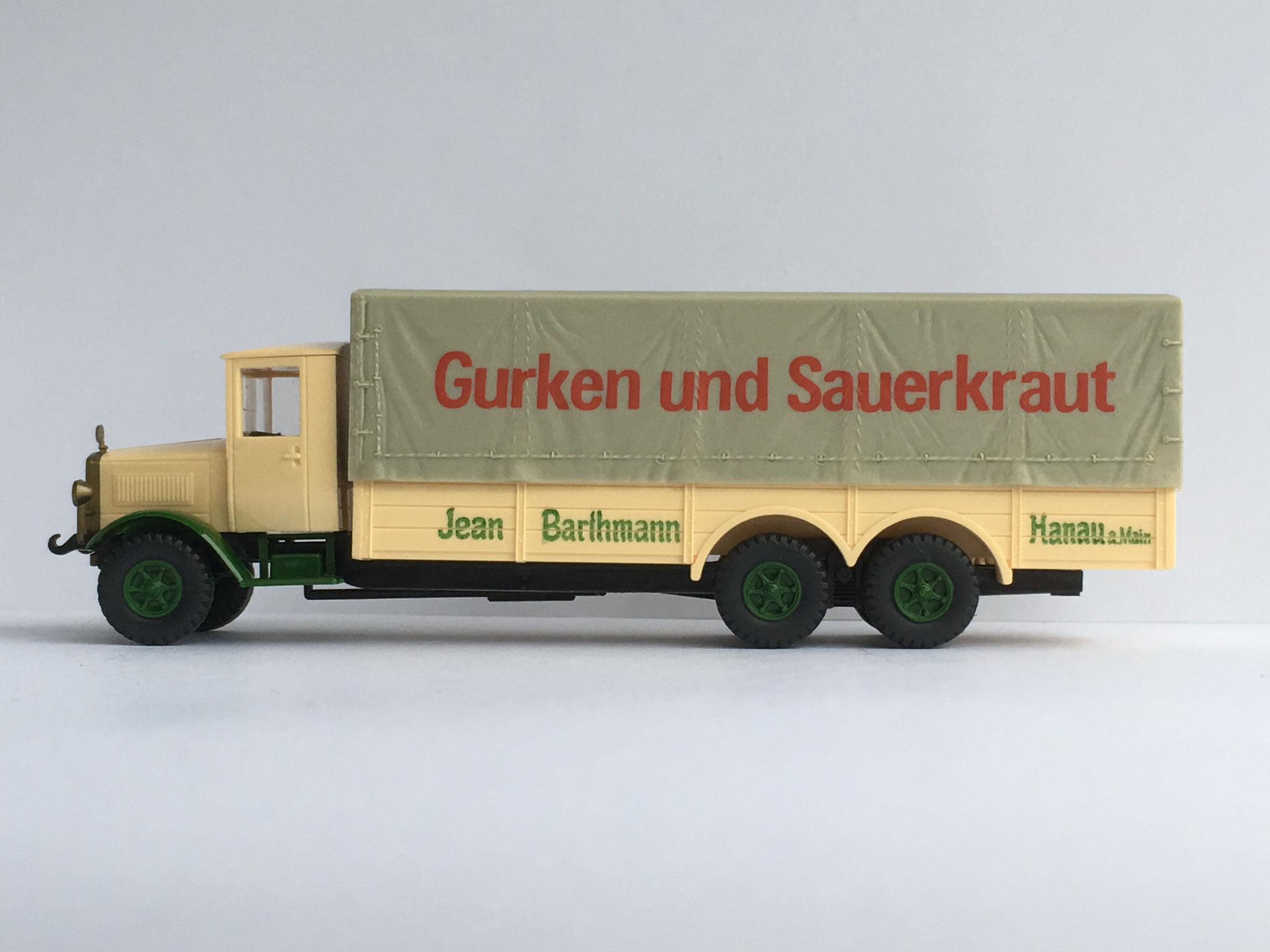 Mercedes N56 Sauerkrautfabrik Barthmann, Art. Nr. 1015 (ab 1988 im Programm)