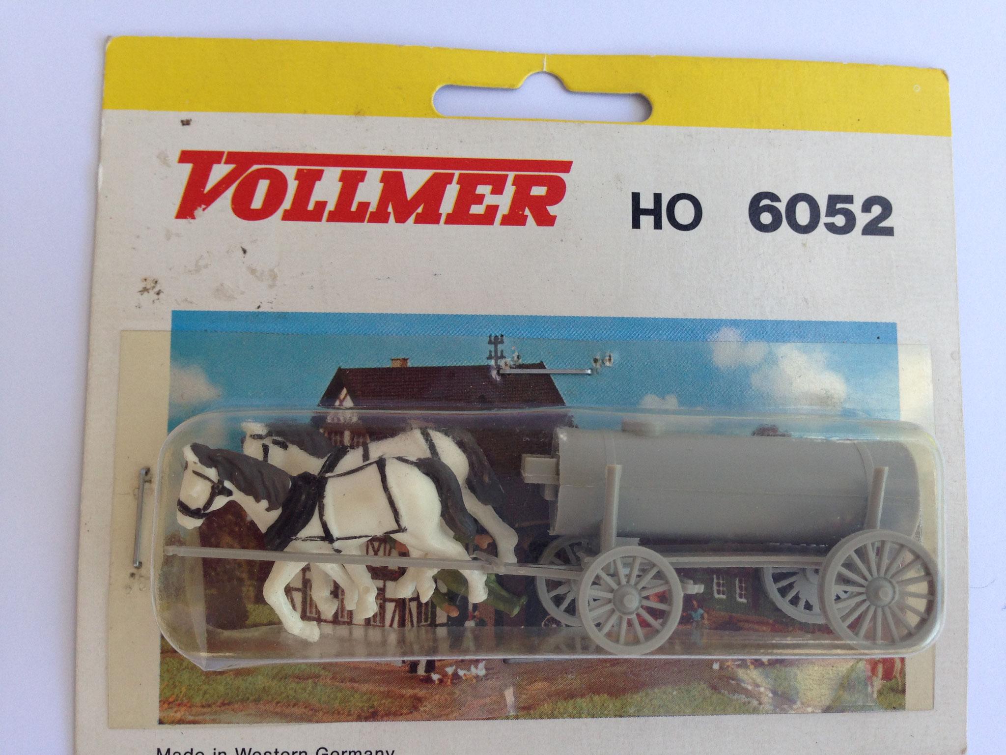 Nr. 6052 Jauchewagen, marschierende Pferde