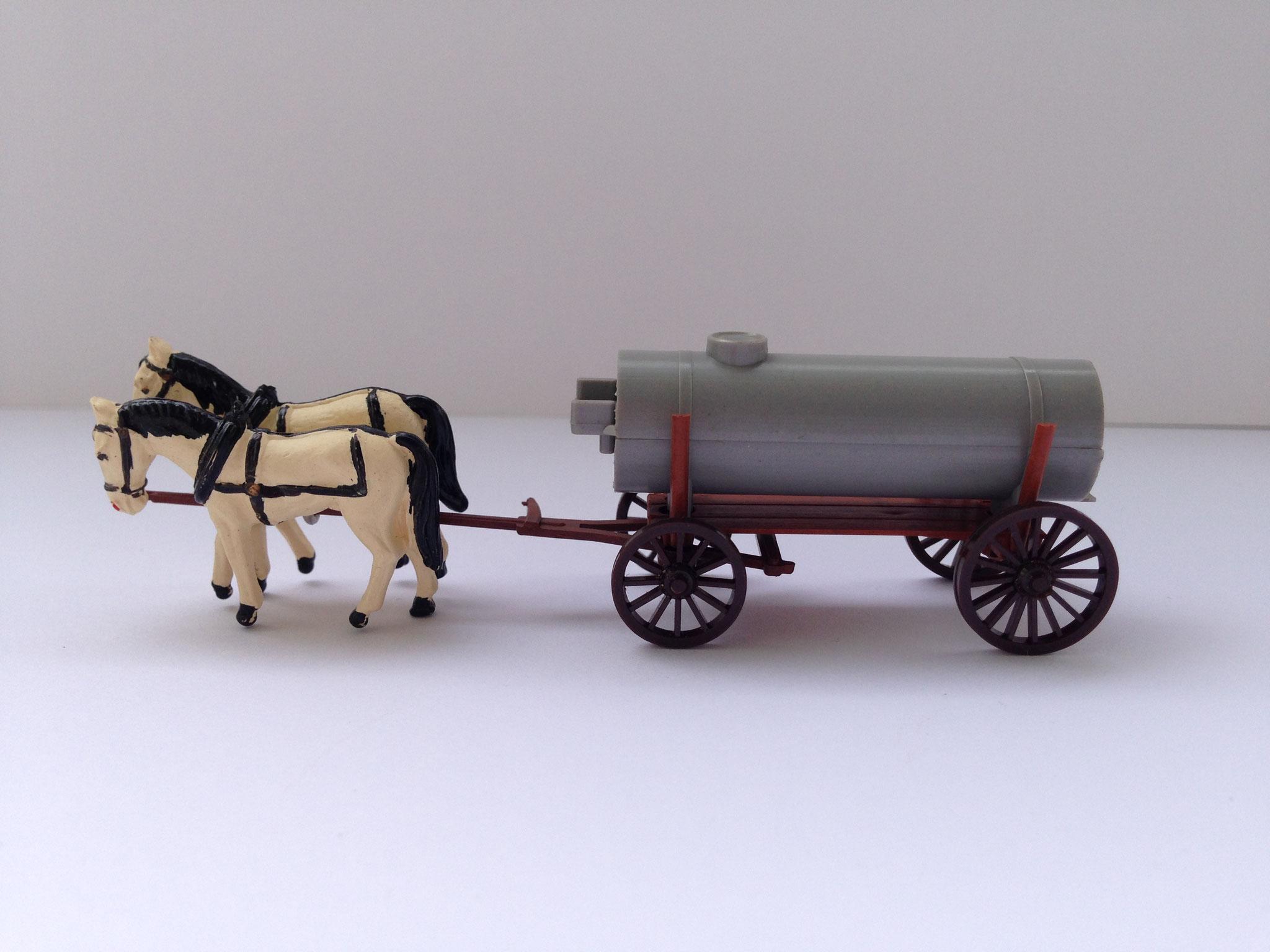 Jauchewagen mit Pferdegespann, Art. Nr. 206 (ab 1956/57 im Programm)