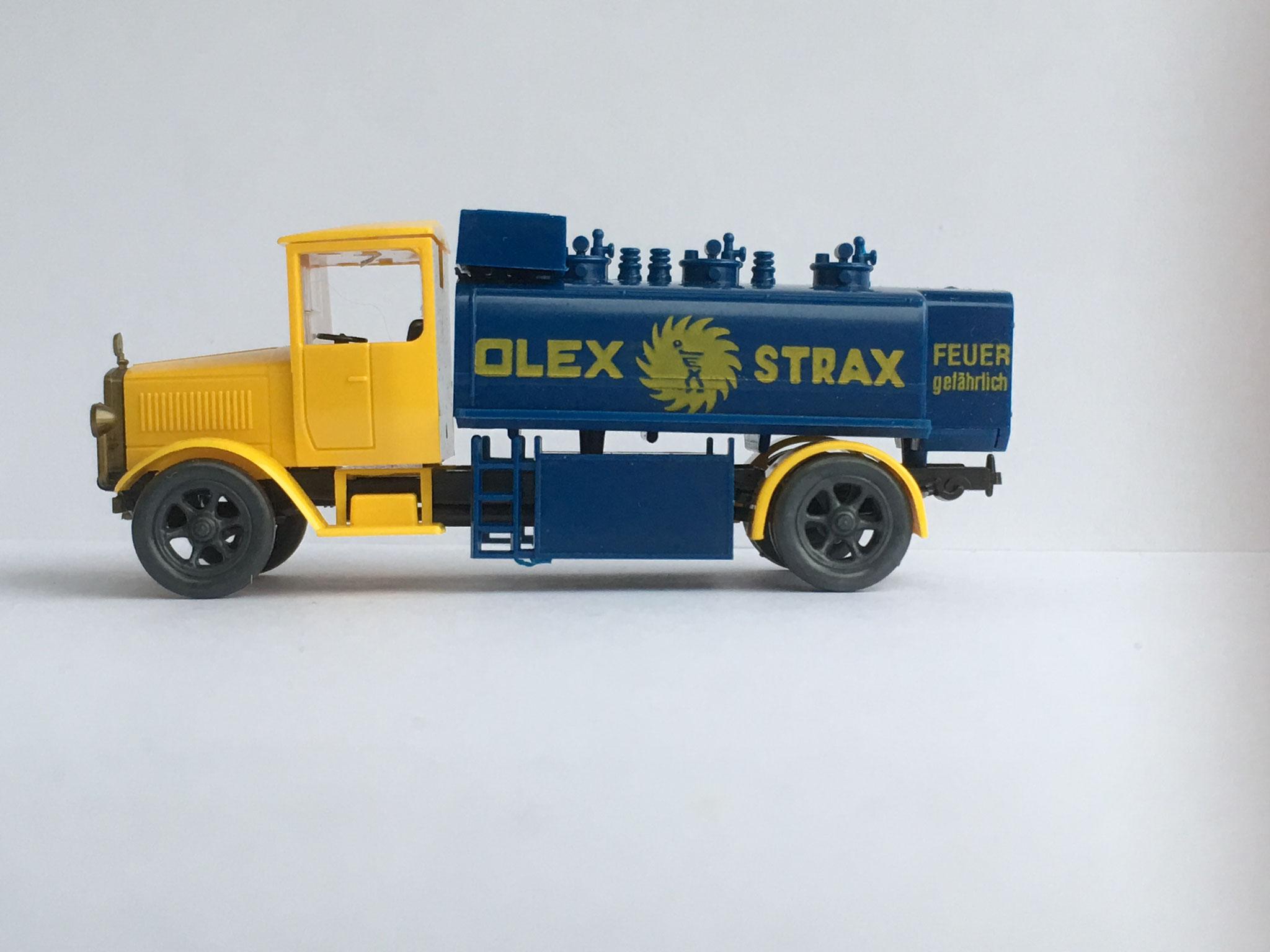 Mercedes L5 Tankwagen OLEX STRAX, Variante 3, Art. Nr. 1017 (ab 1989 im Programm)