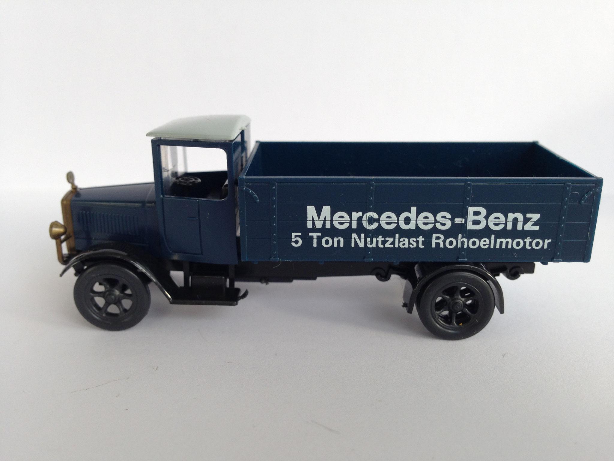 Mercedes L5 Mercedes-Benz 5 Ton Nutzlast Rohoelmotor
