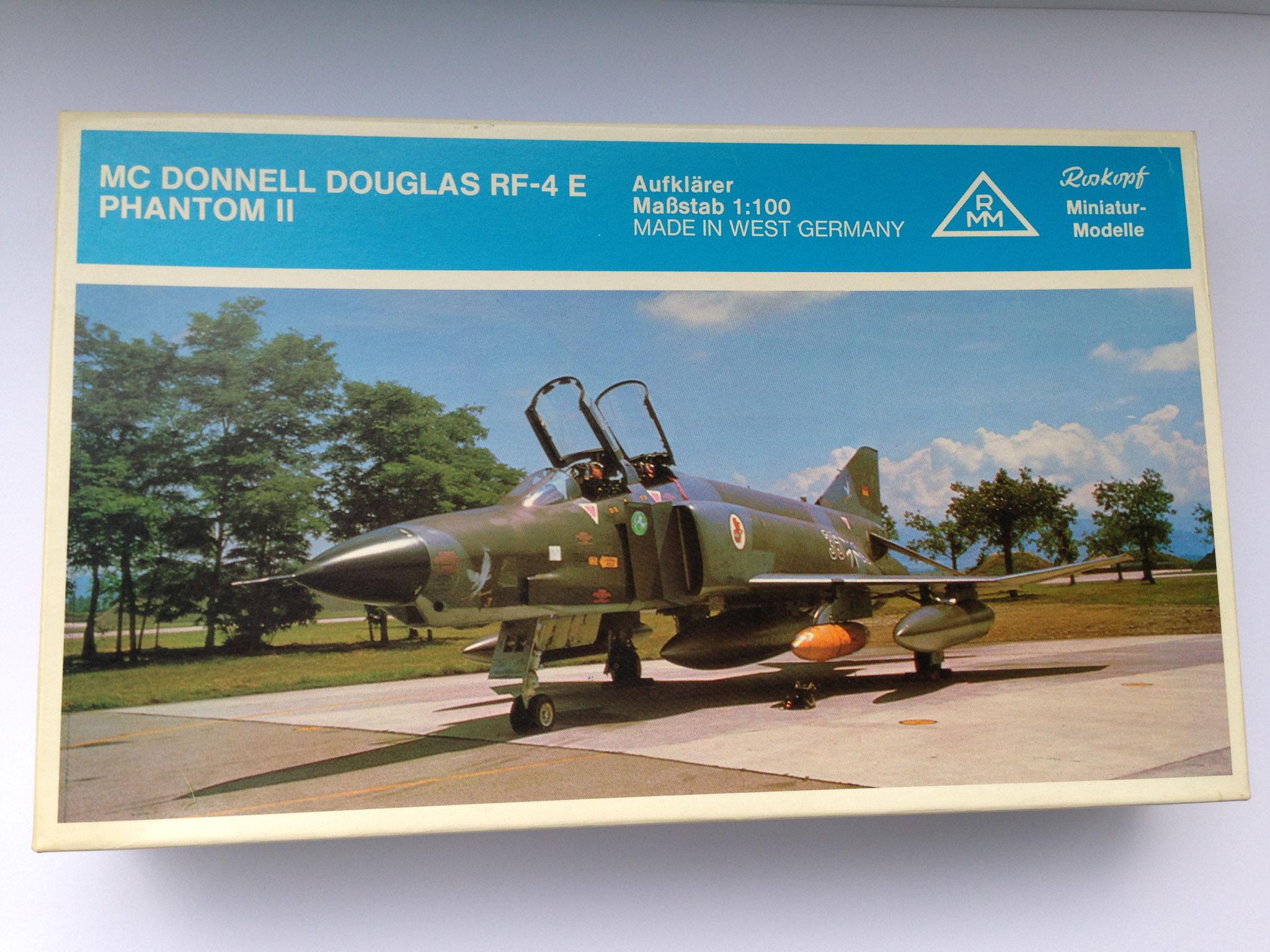 RF-4 E Phantom II Aufklärungsflugzeug der Bundesluftwaffe, Bausatz, Art. Nr. 93 (ab 1981 im Programm)